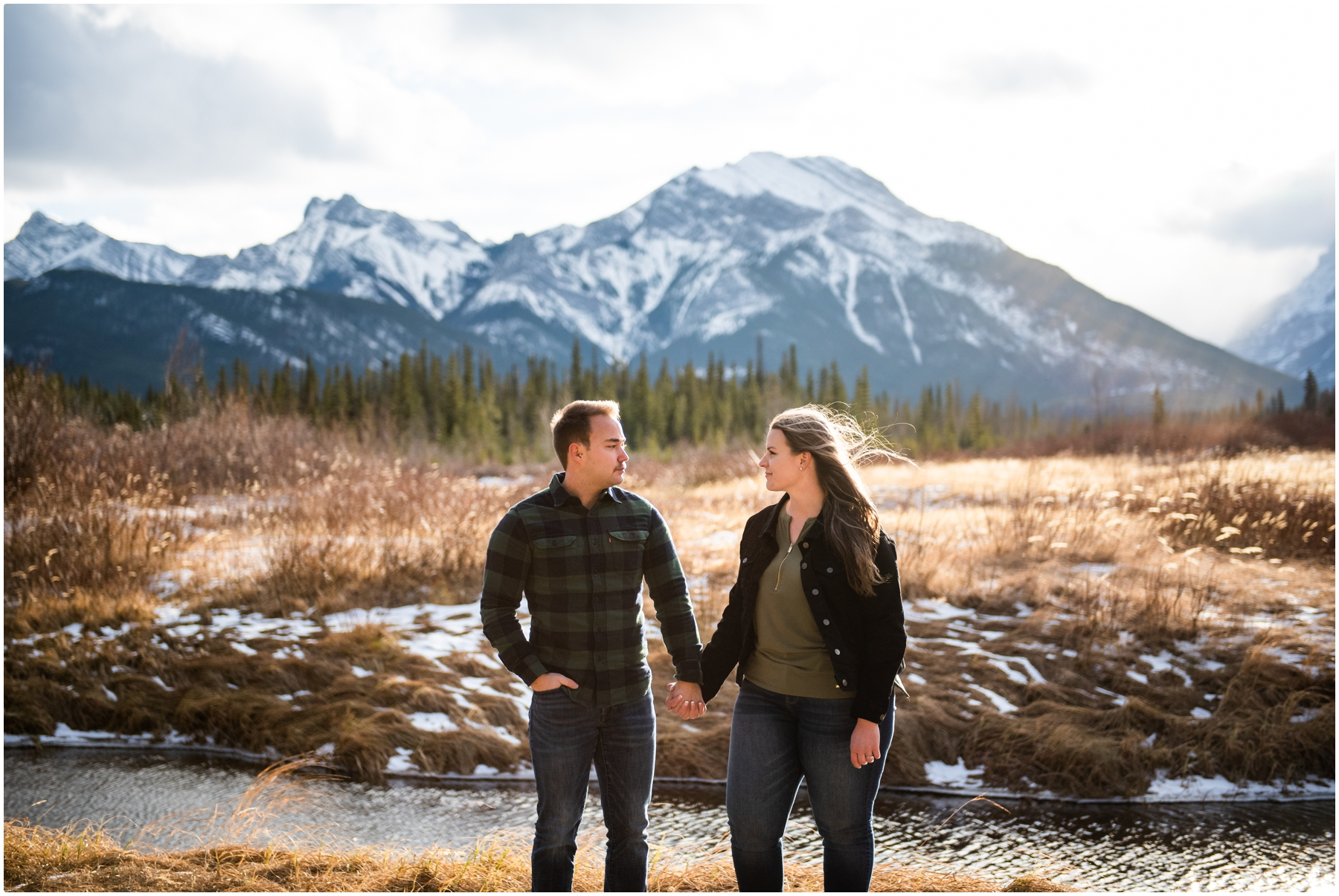 Calgary Engagement Photographer - Kananaskis Adventure Engagement Session