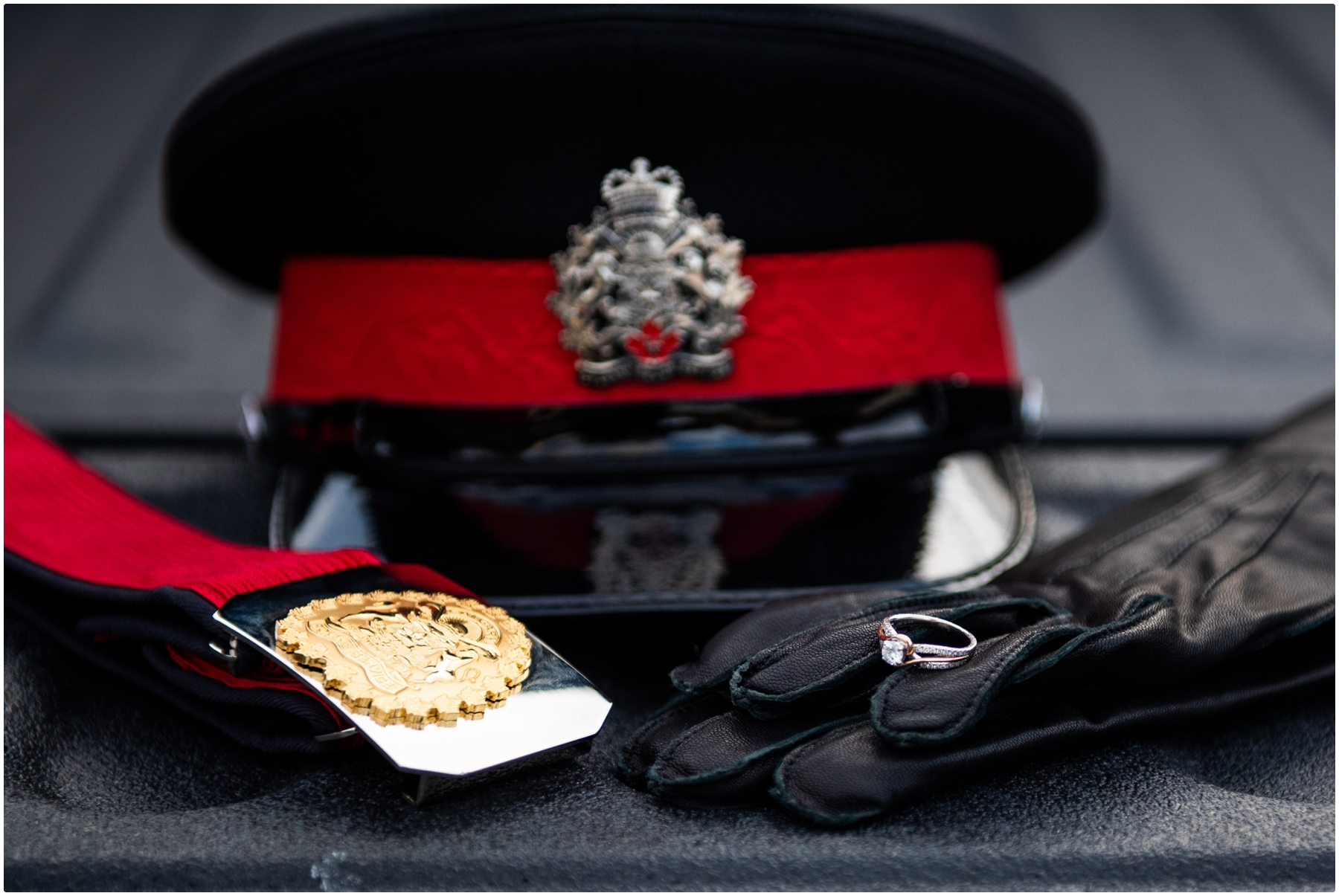 Calgary Police Engagement Photography Session