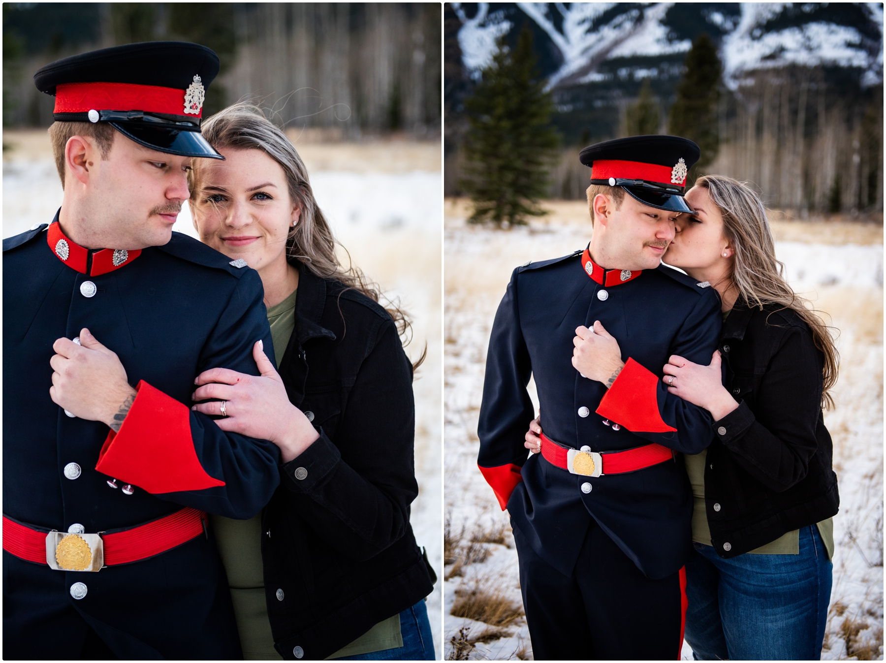 Calgary Police Engagement Photos