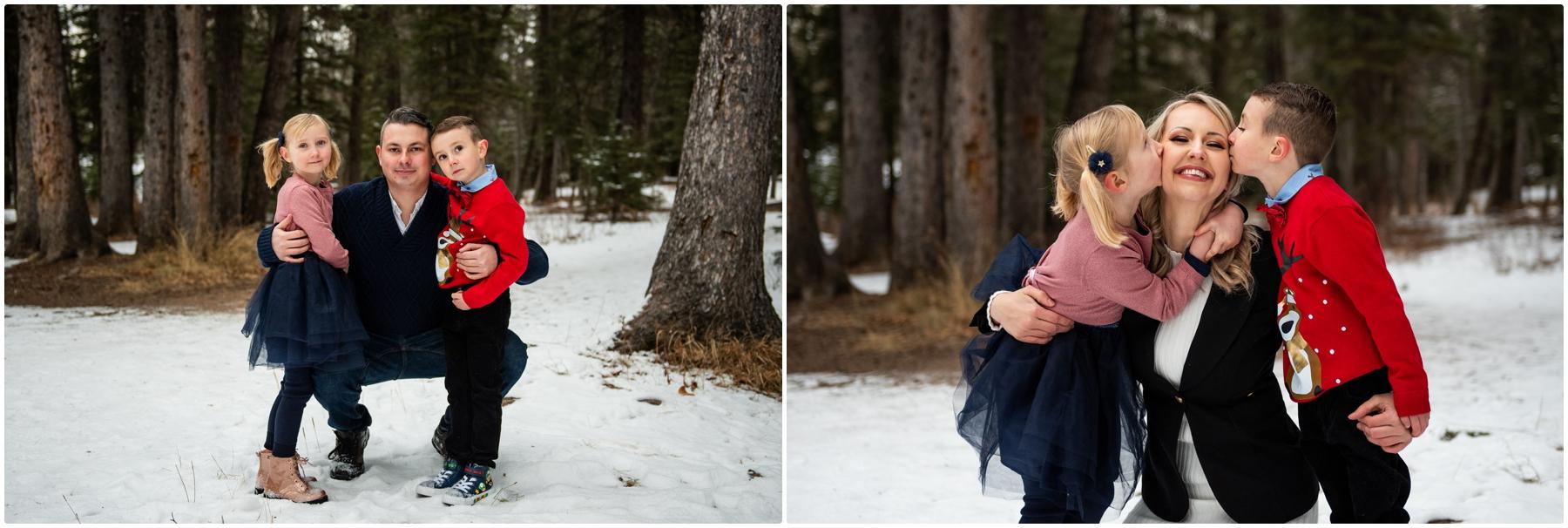 Calgary Winter Family Photographers- Fish Creek Park
