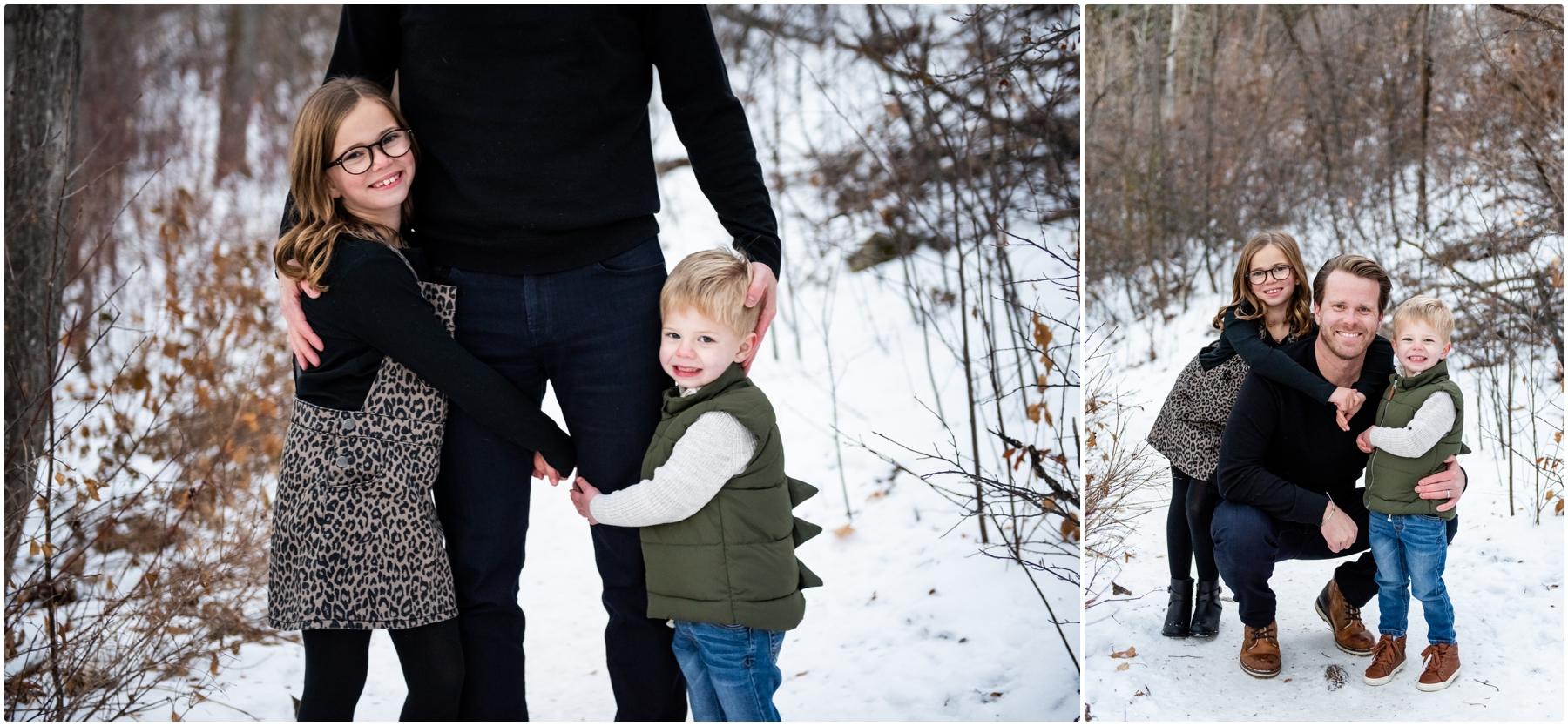 Edworthy Park Winter Calgary Family Photographers