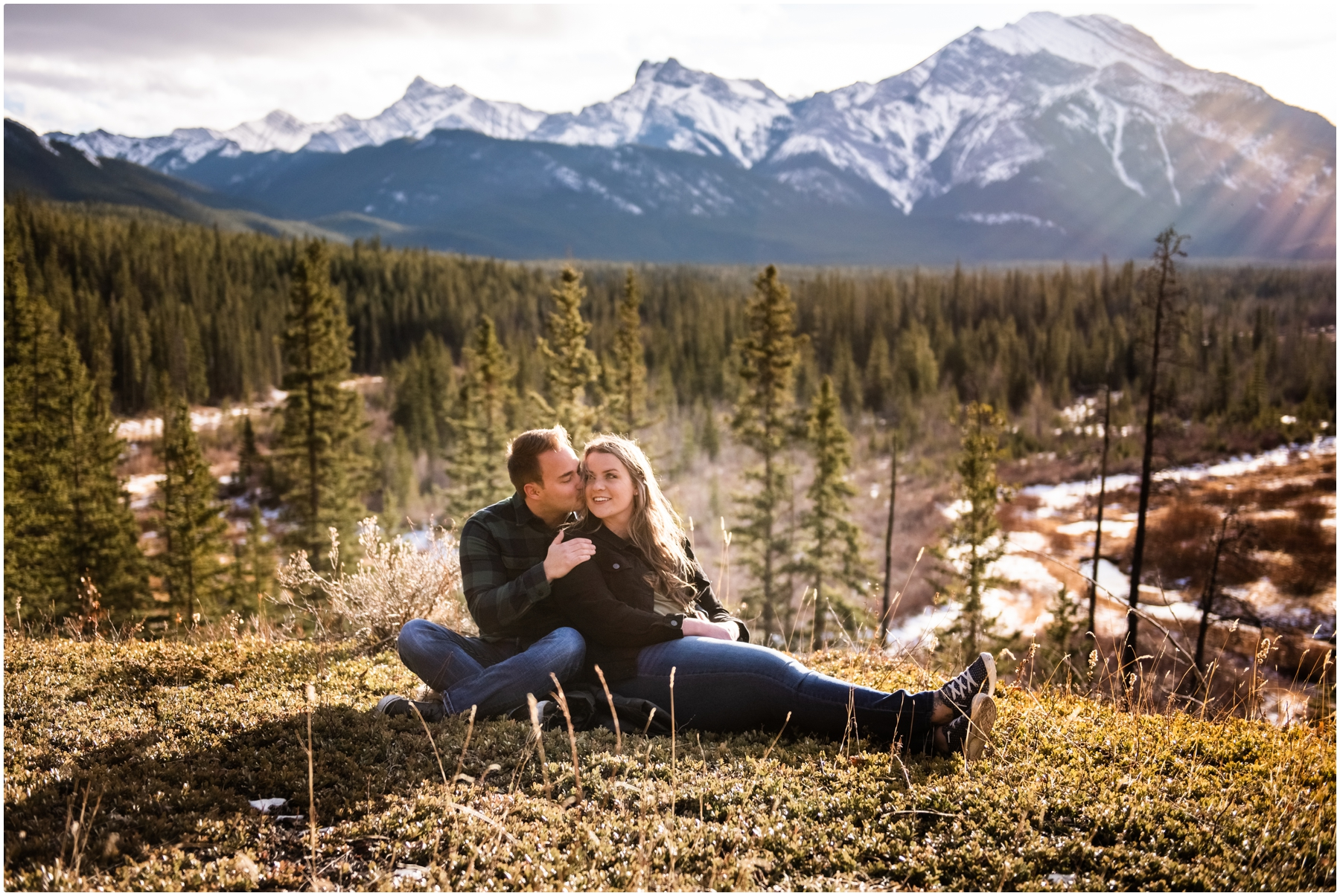 Kananaskis Adventure Engagement Photographers