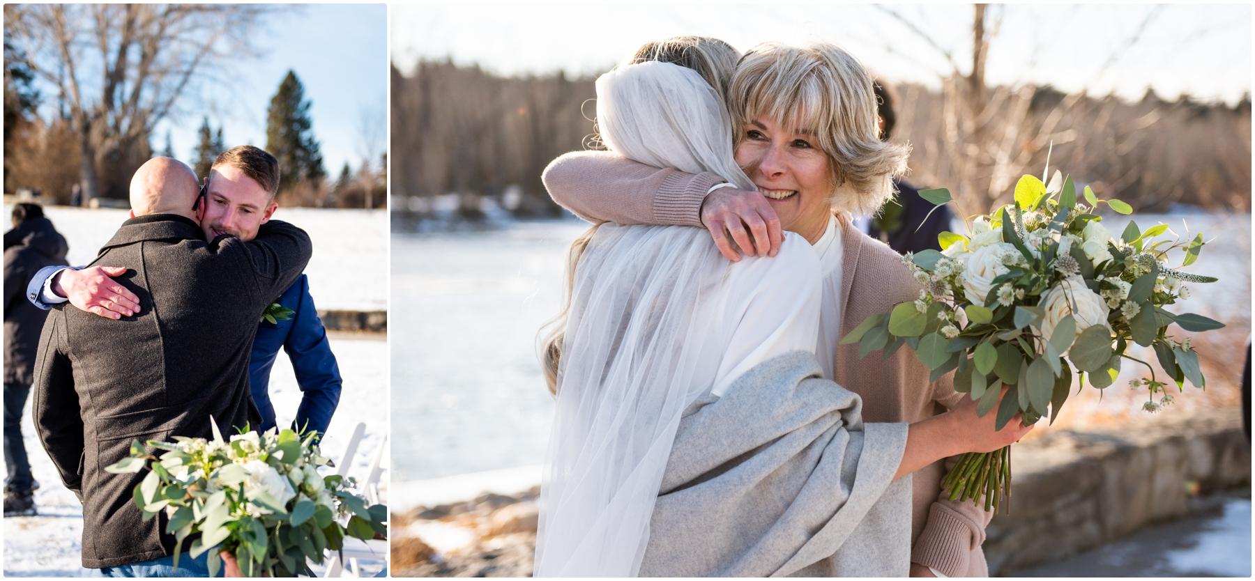 Calgary Alberta Baker Park Wedding Photography