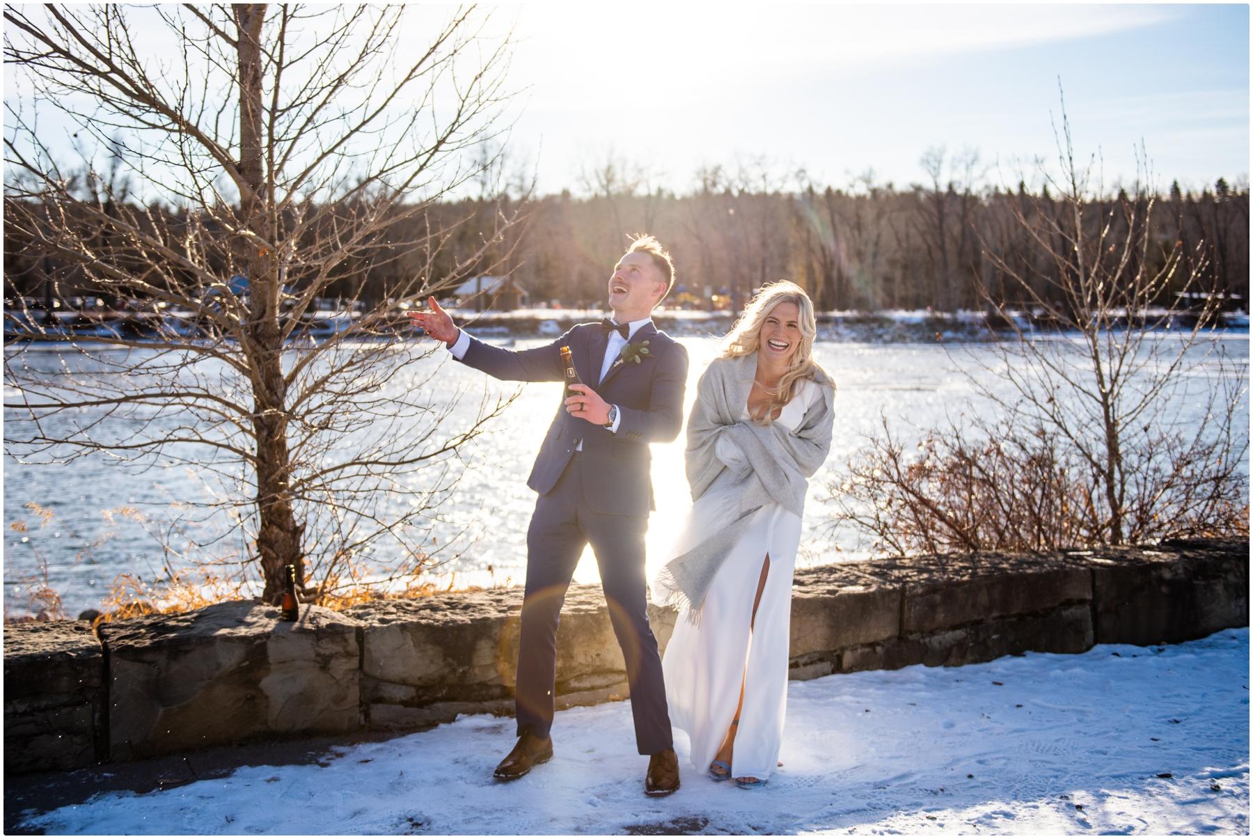 Calgary Winter Wedding Photographer