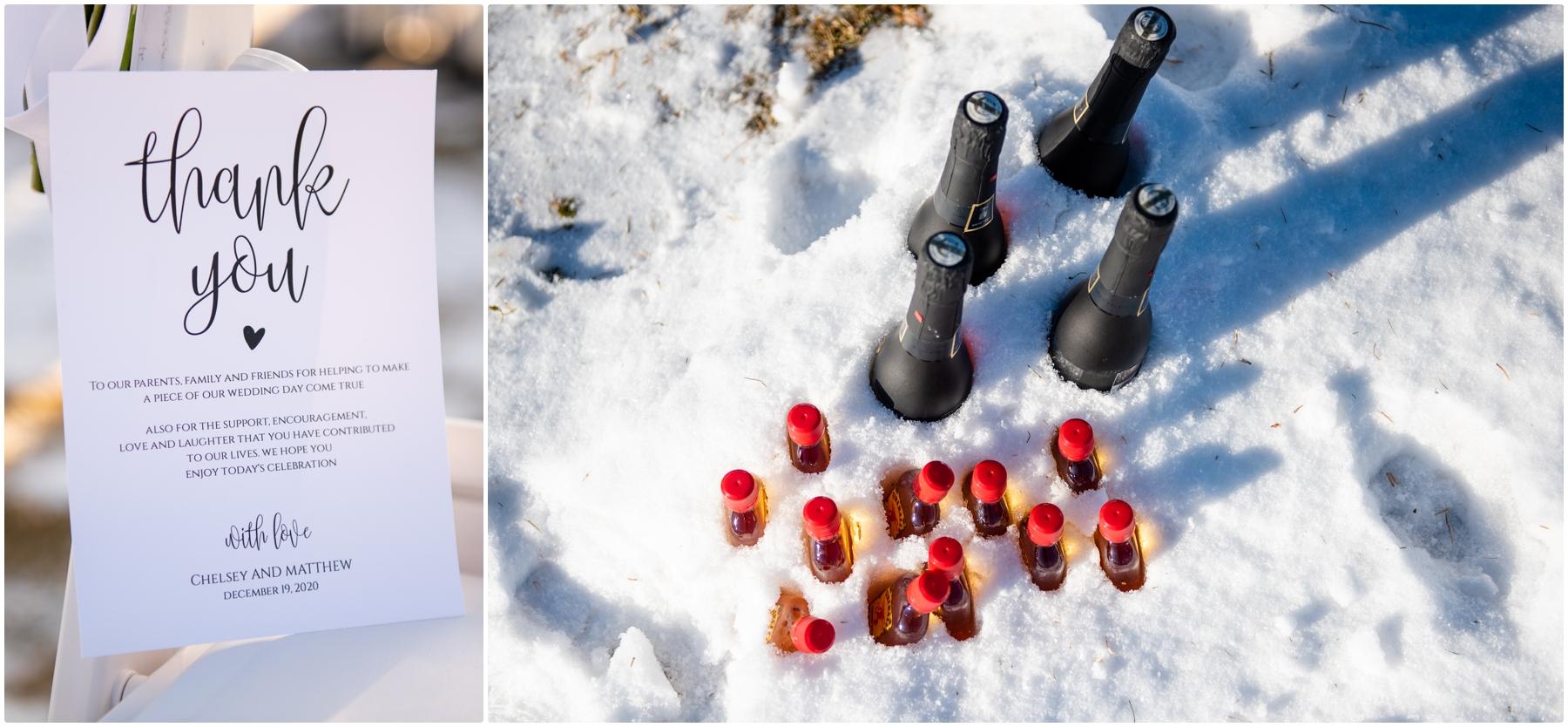 Calgary Winter Wedding Photos