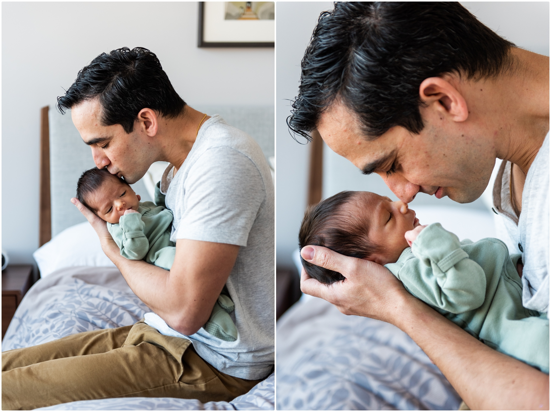 Lifestyle In Home Newborn Session Calgary AB