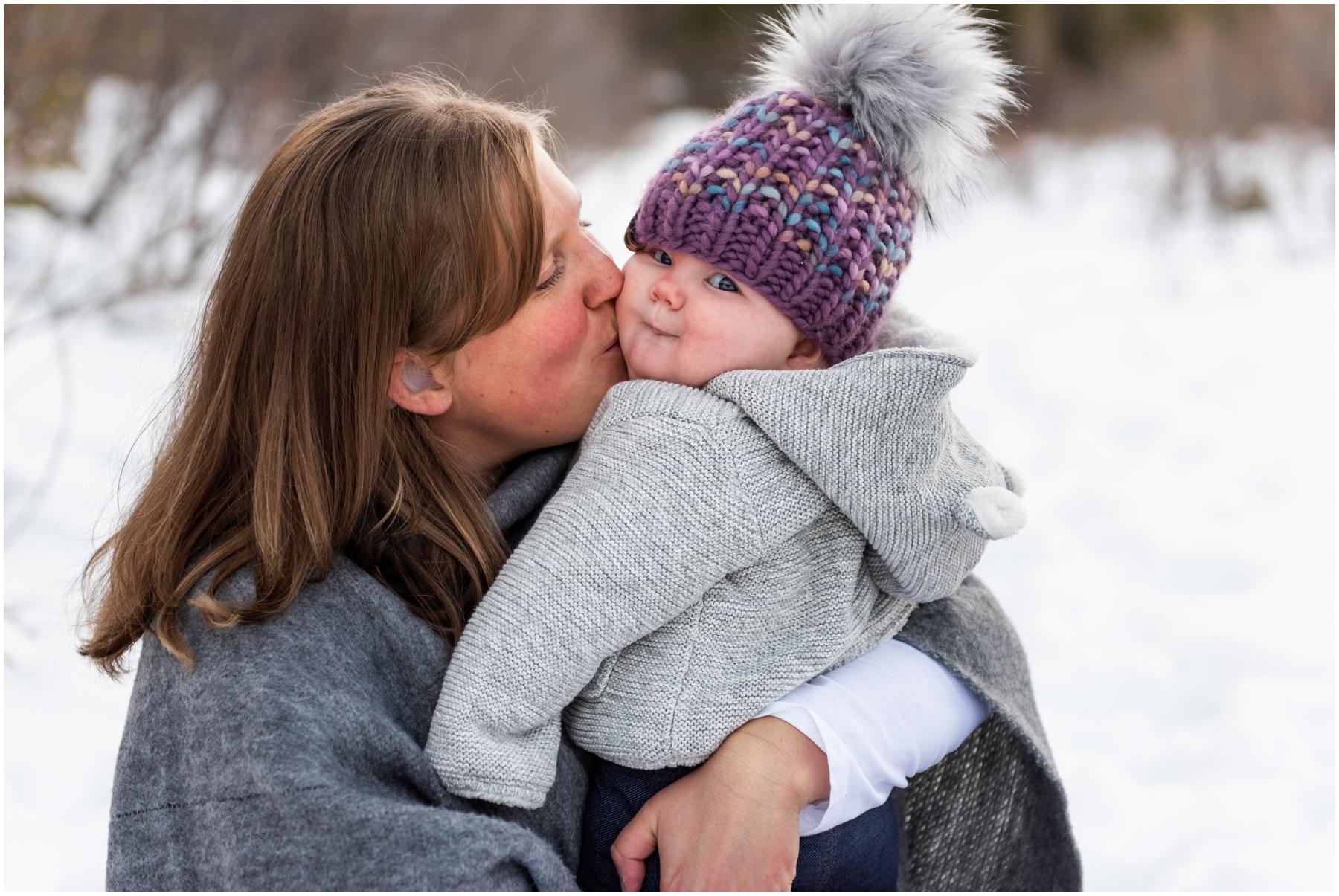 Rocky Mountain Winter Family Photography