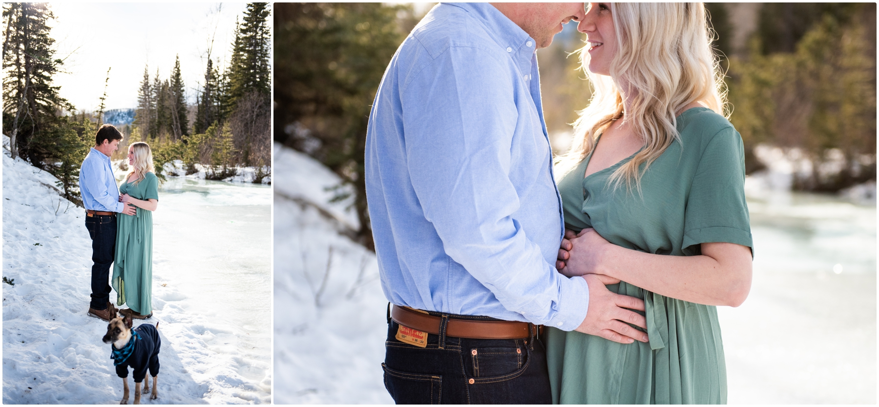 Bragg Creek Provincial Park Maternity Session