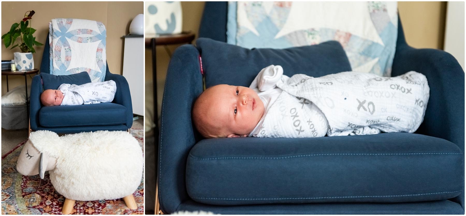 Calgary AB Lifestyle Newborn At Home Photography