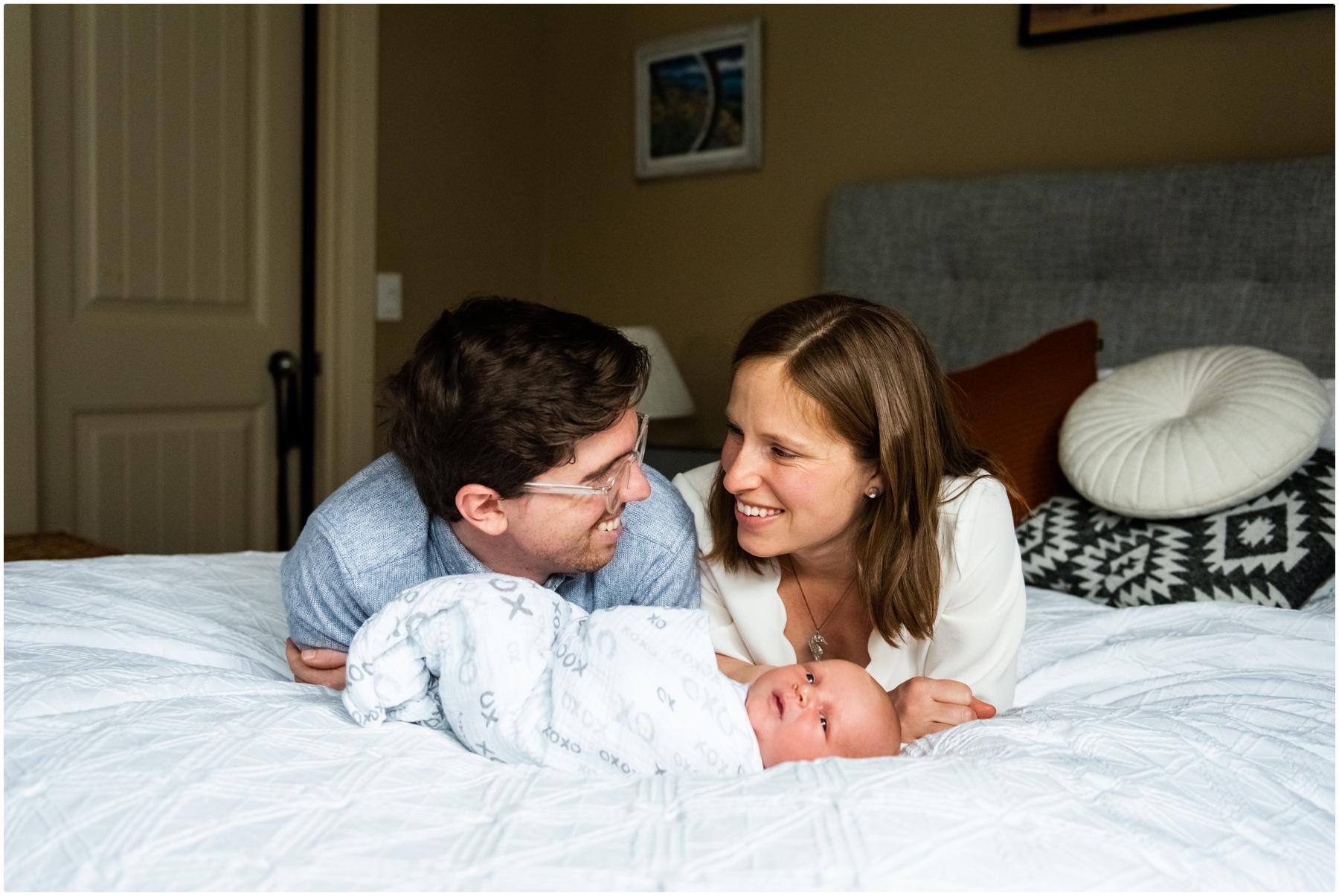 Calgary AB Lifestyle Newborn In Home Photographers