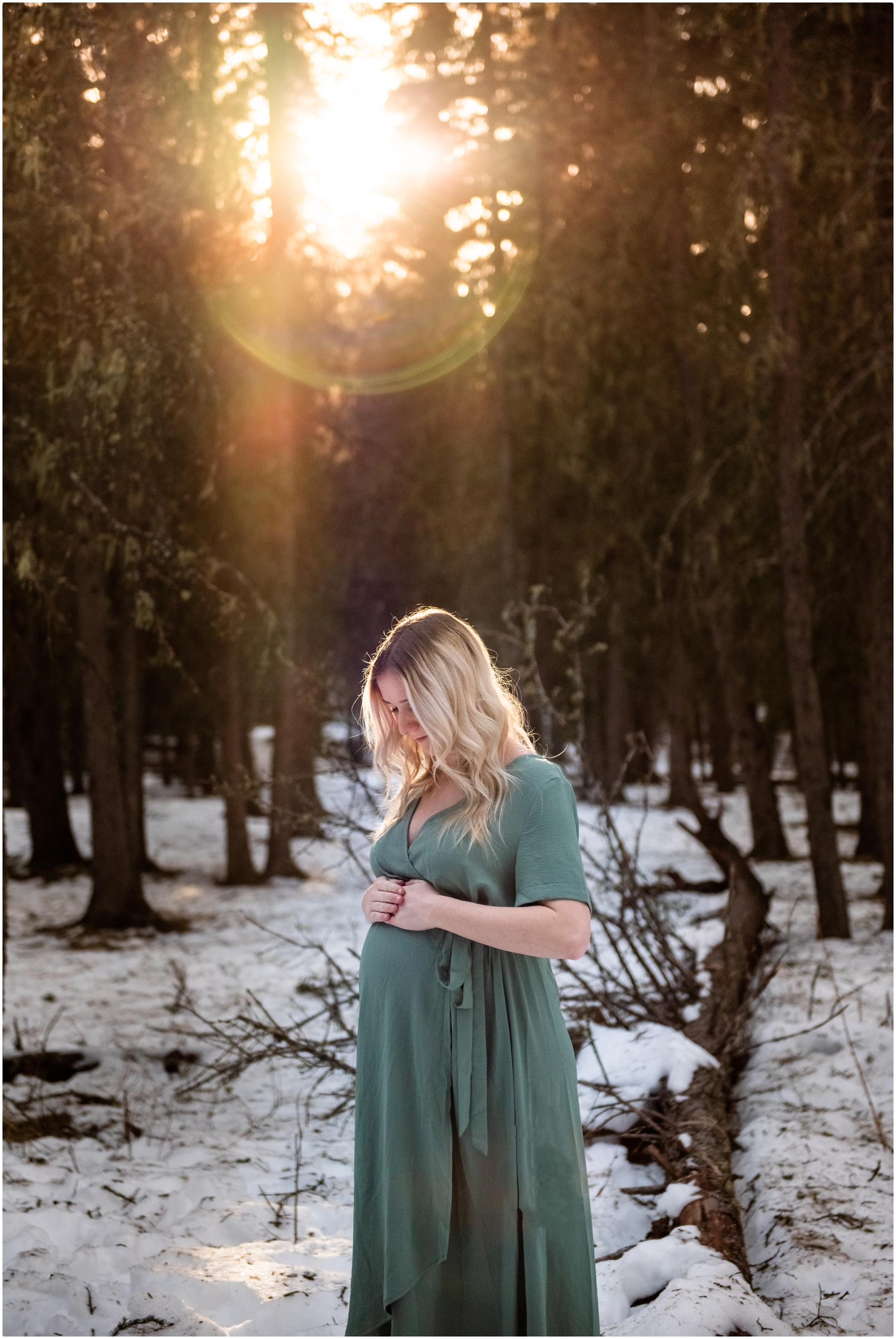 Kananaskis Maternity Photos - Bragg Creek
