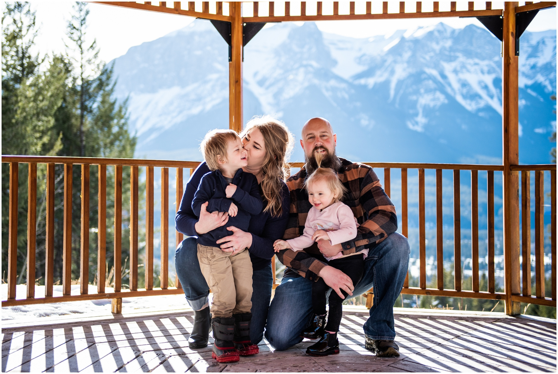 Canmore Silvertip Resort Family Photography Session
