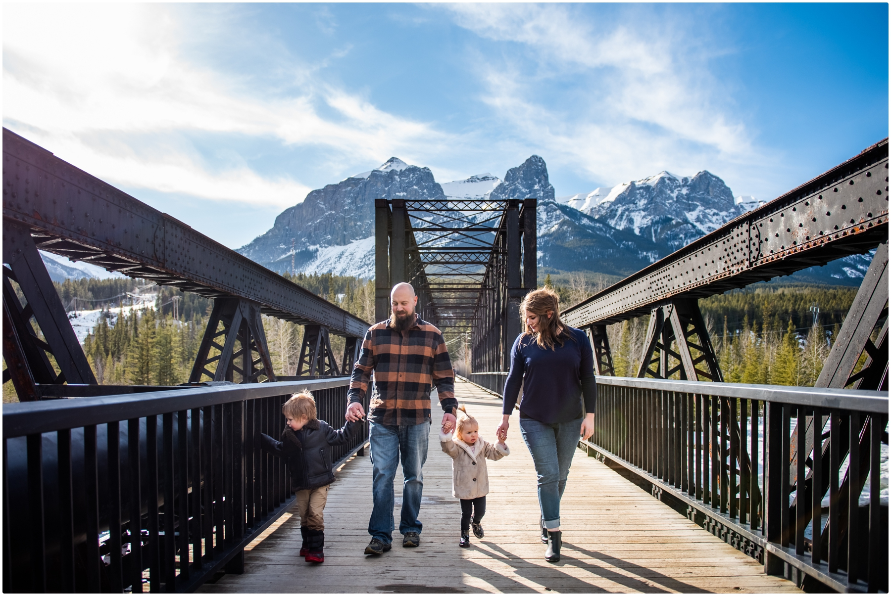 Canmore Spring Family Photography