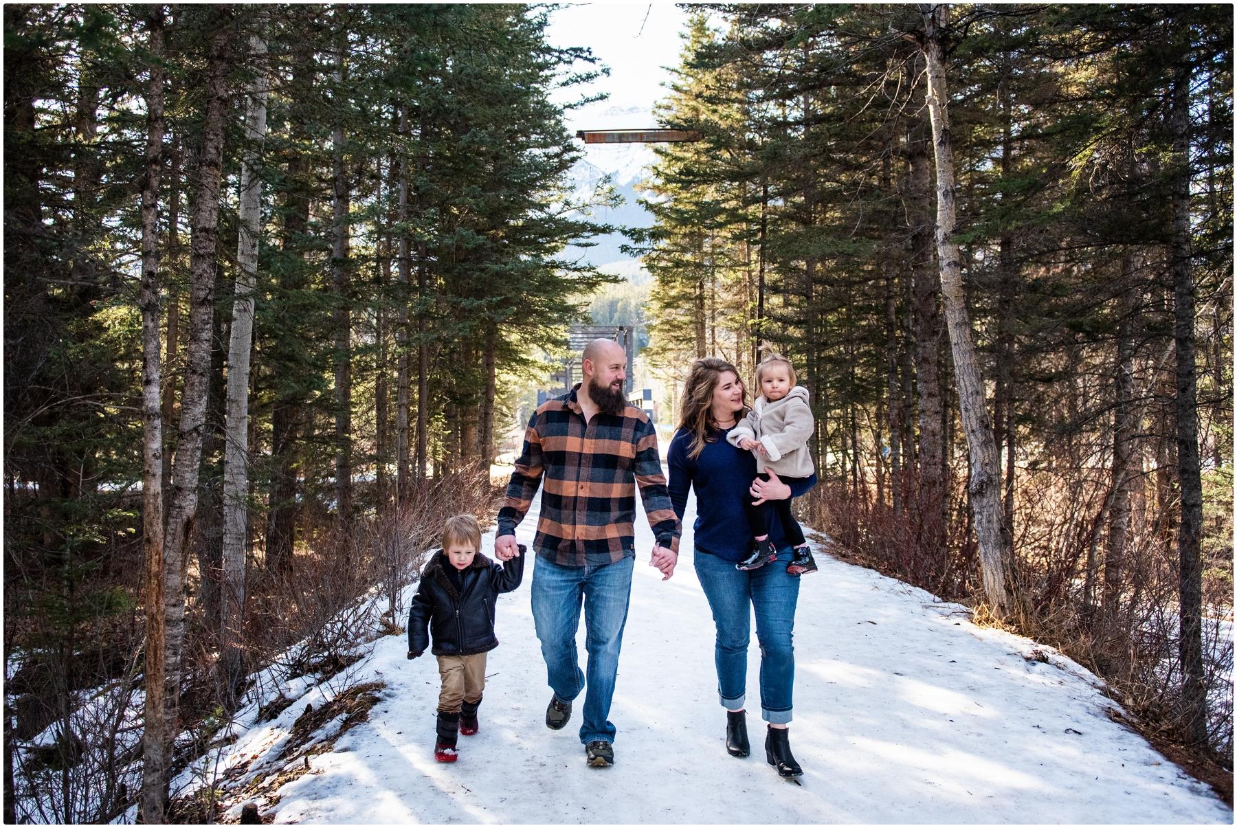 Canmore Spring Family Photos