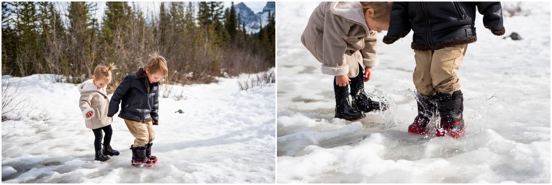 Canmore Spring Family Session