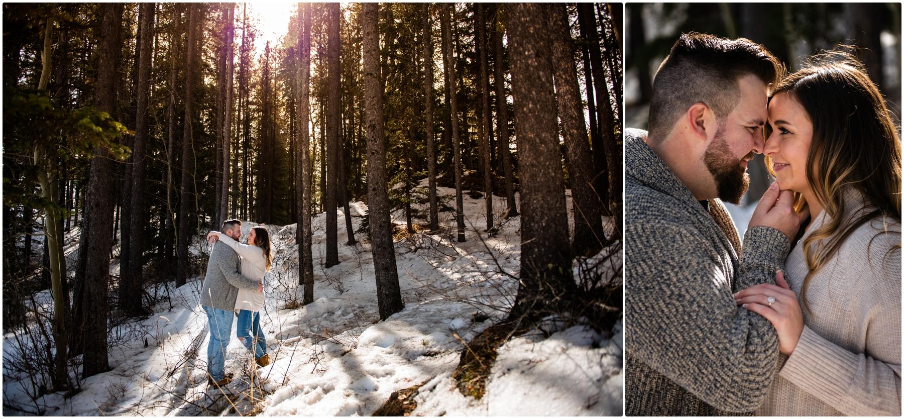 Engagement Photographers Banff Alberta