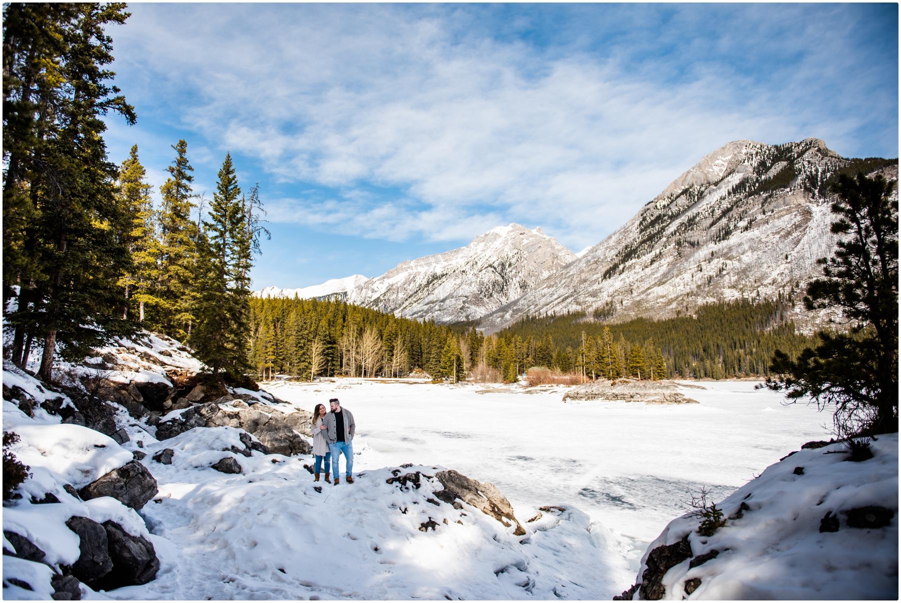 Engagement Photography Banff Alberta