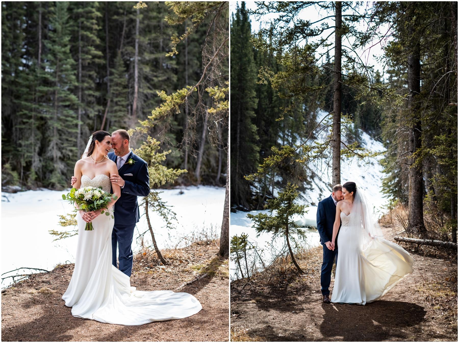 Bride & Groom Formal Wedding Photography Calgary