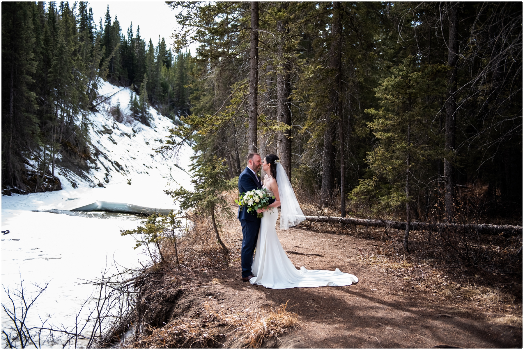 Bride & Groom Wedding Photography Calgary