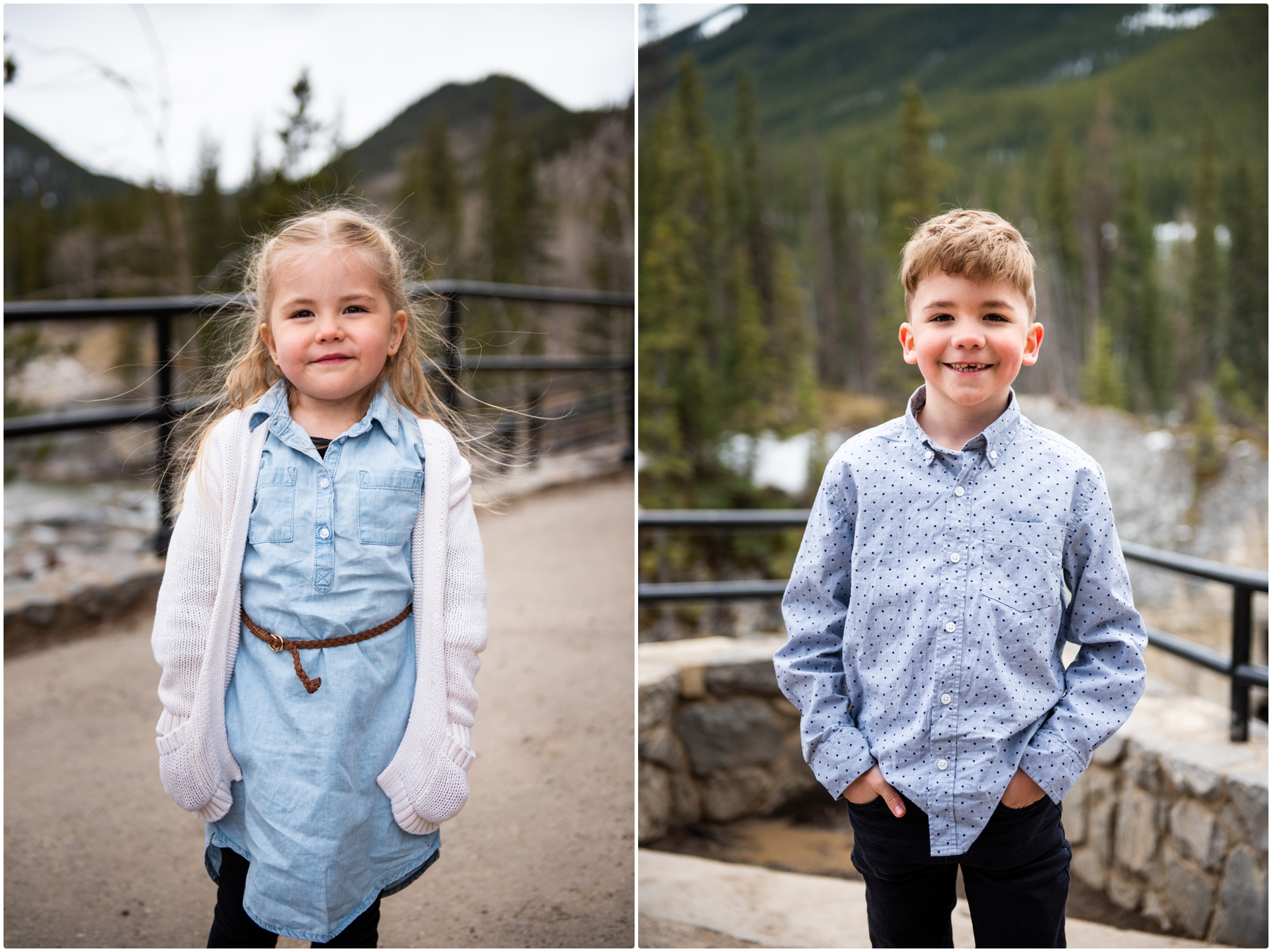 Calgary Children's Photographer - Elbow Falls Kananaski