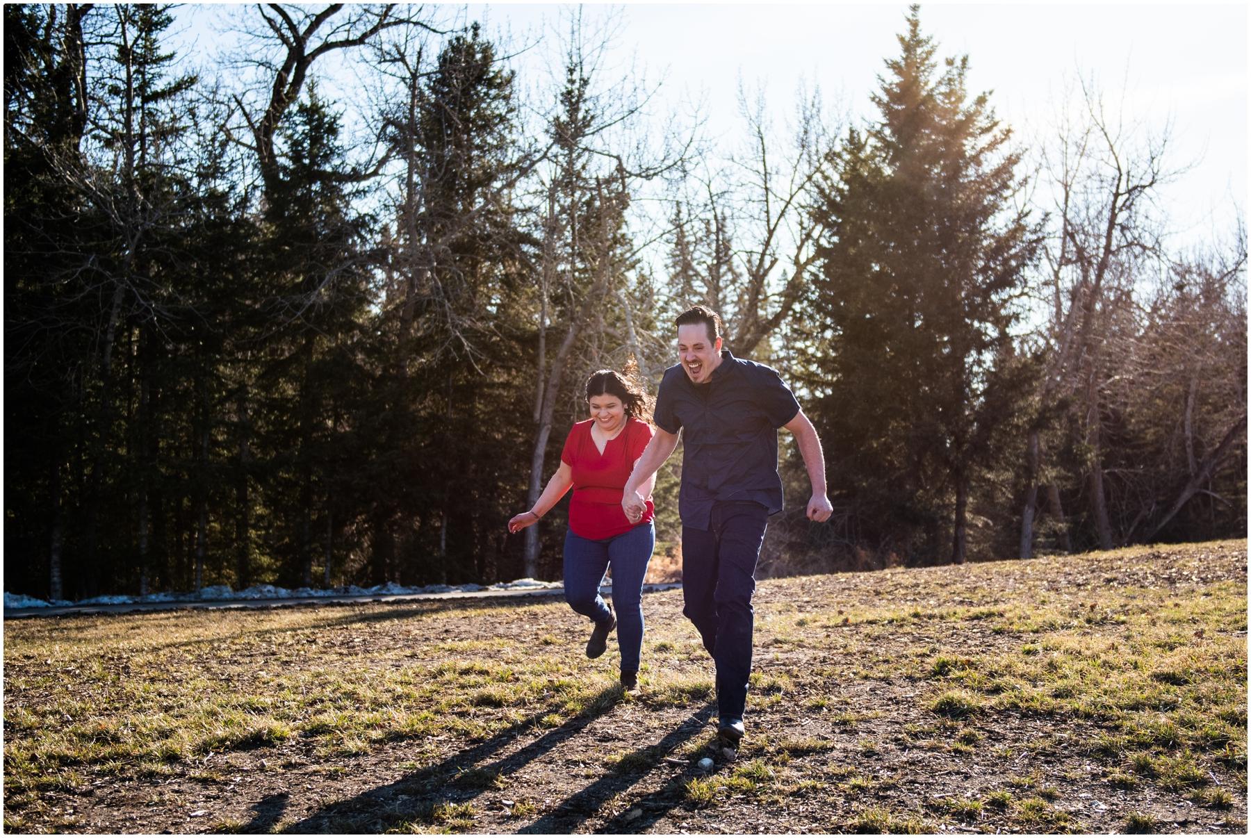 Calgary Engagement Photo Session - Calgary Wedding Photographers