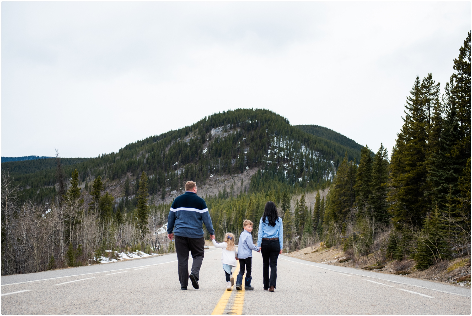 Calgary Family Photographers - Elbow Falls Kananaski