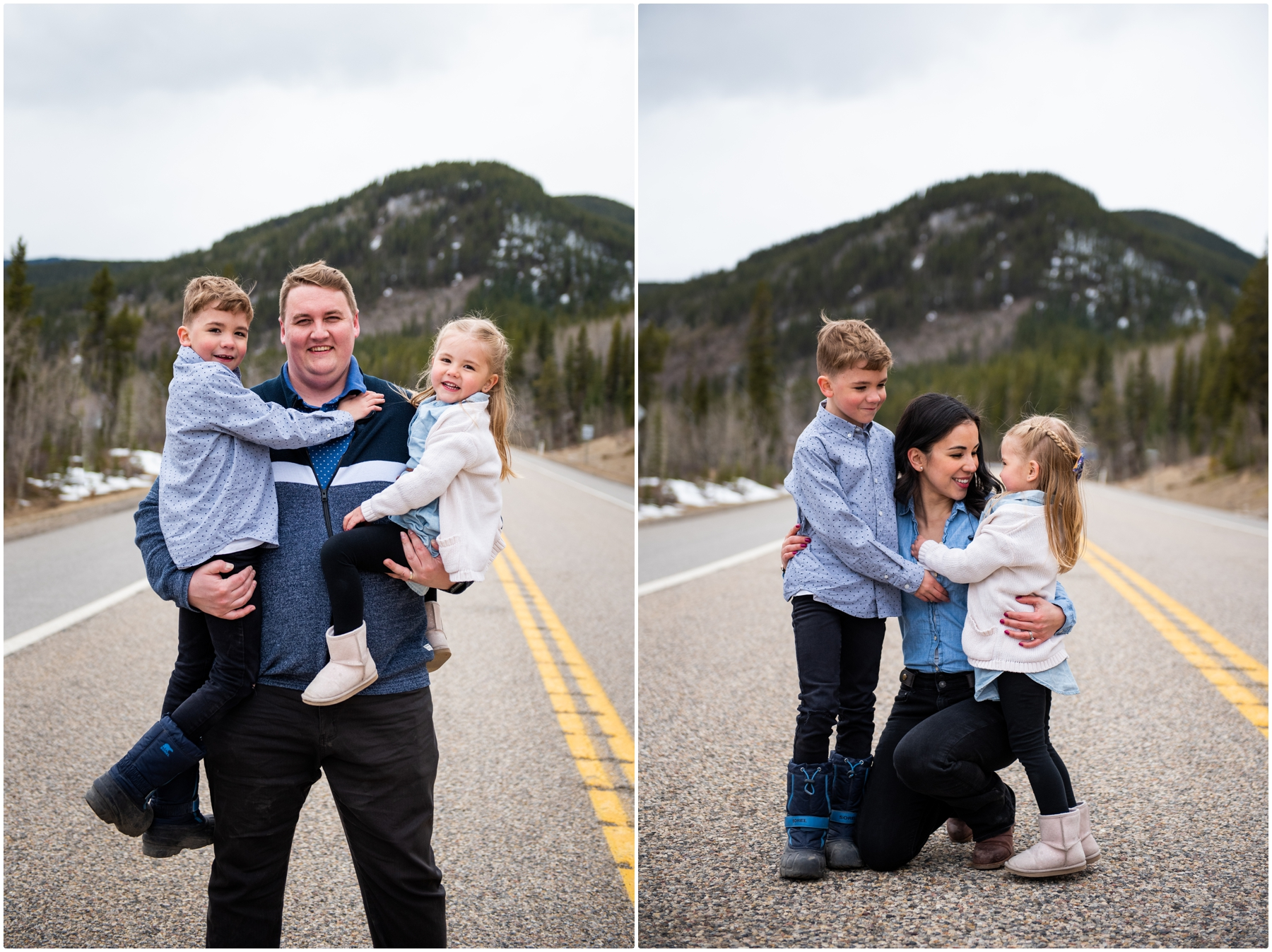 Calgary Family Photographers - Elbow Falls