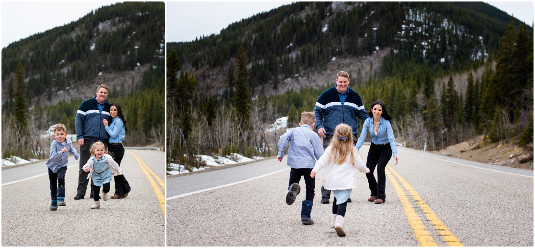 Calgary Family Photography - Elbow Falls Kananaski