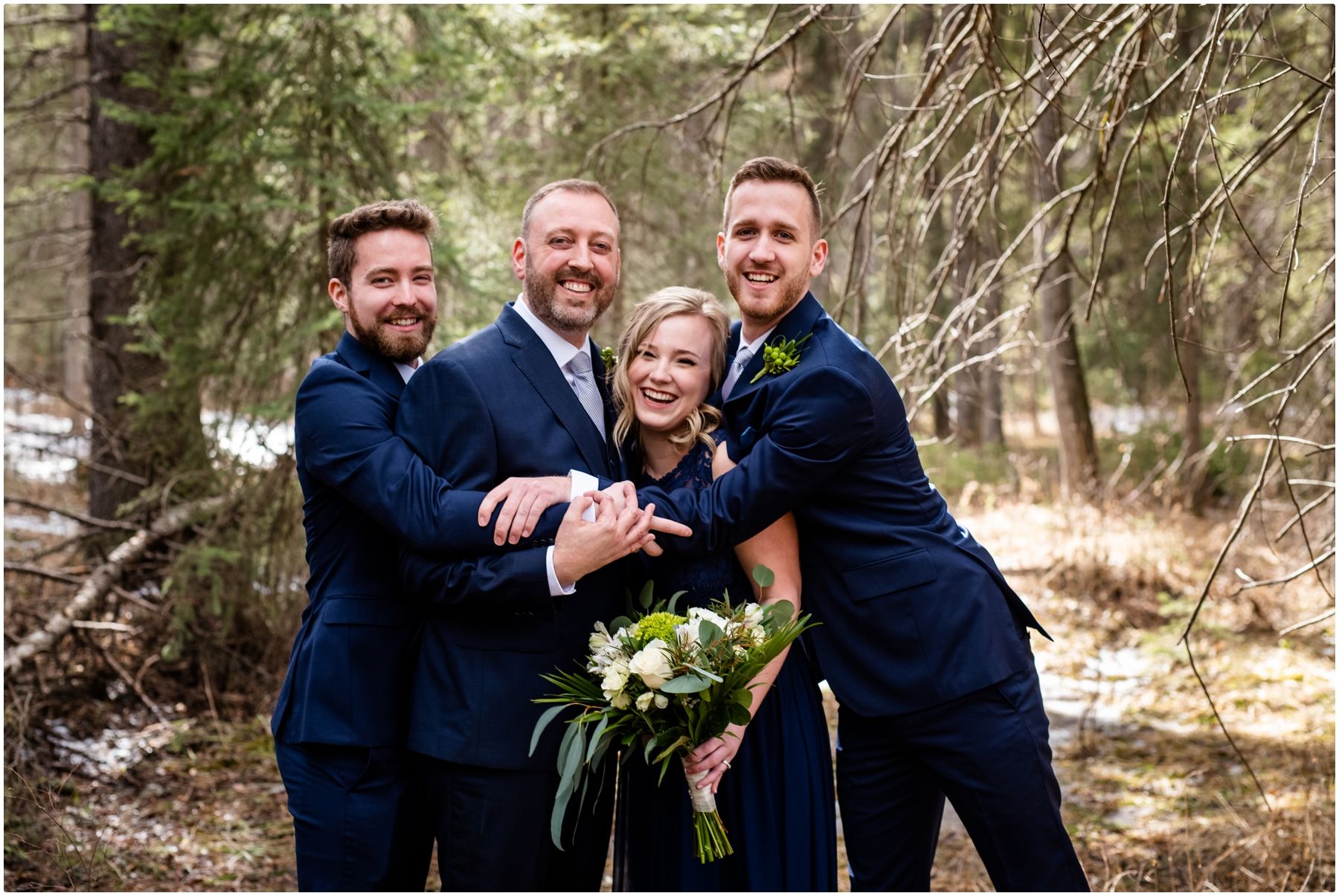 Calgary Fishcreek Park Wedding Photographer