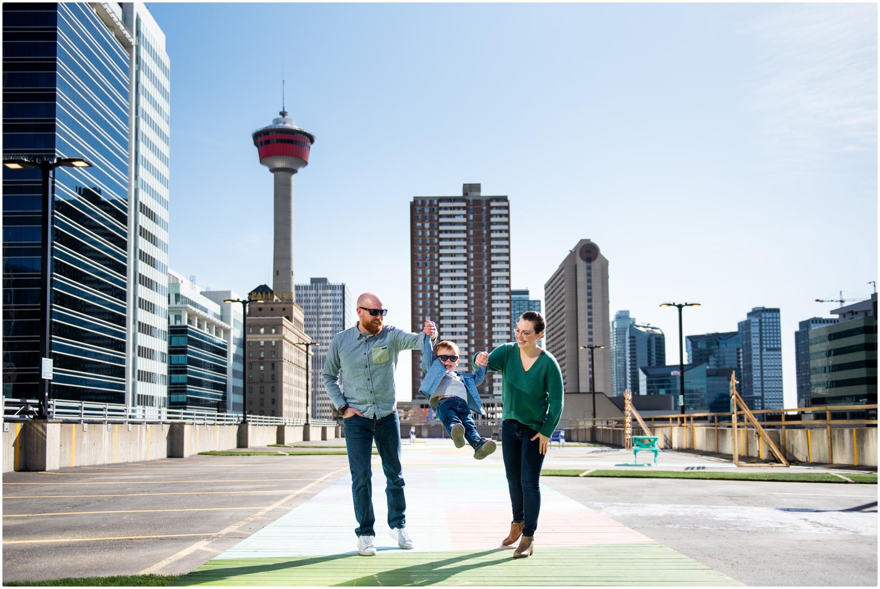 Calgary High Park Family Photo Session