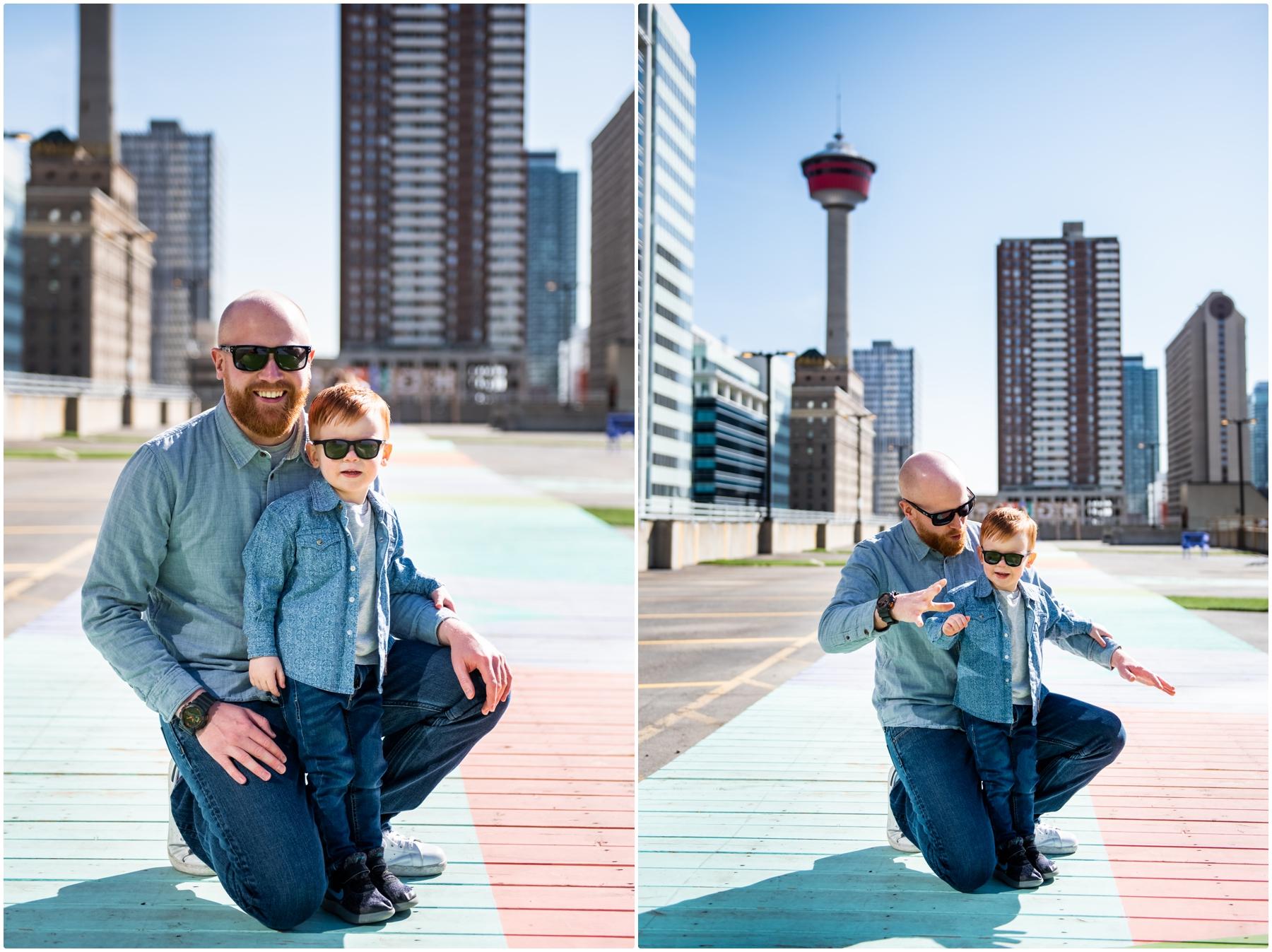 Calgary High Park Family Photography