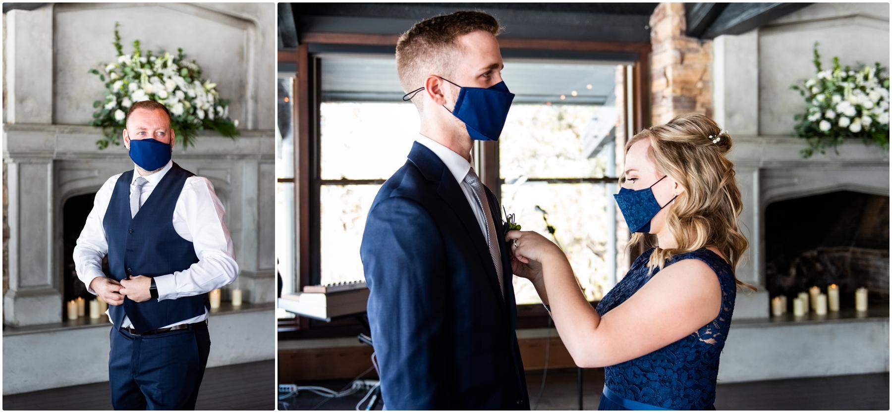 Calgary Lake House Micro Wedding Day