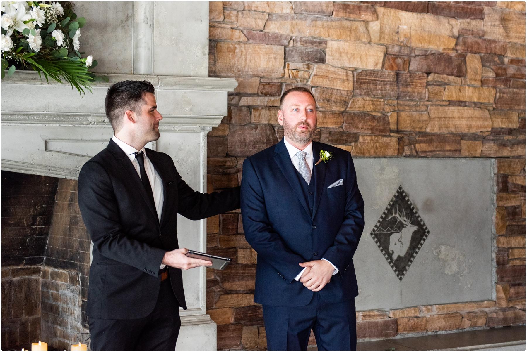 Calgary Lake House Micro Wedding Photographers