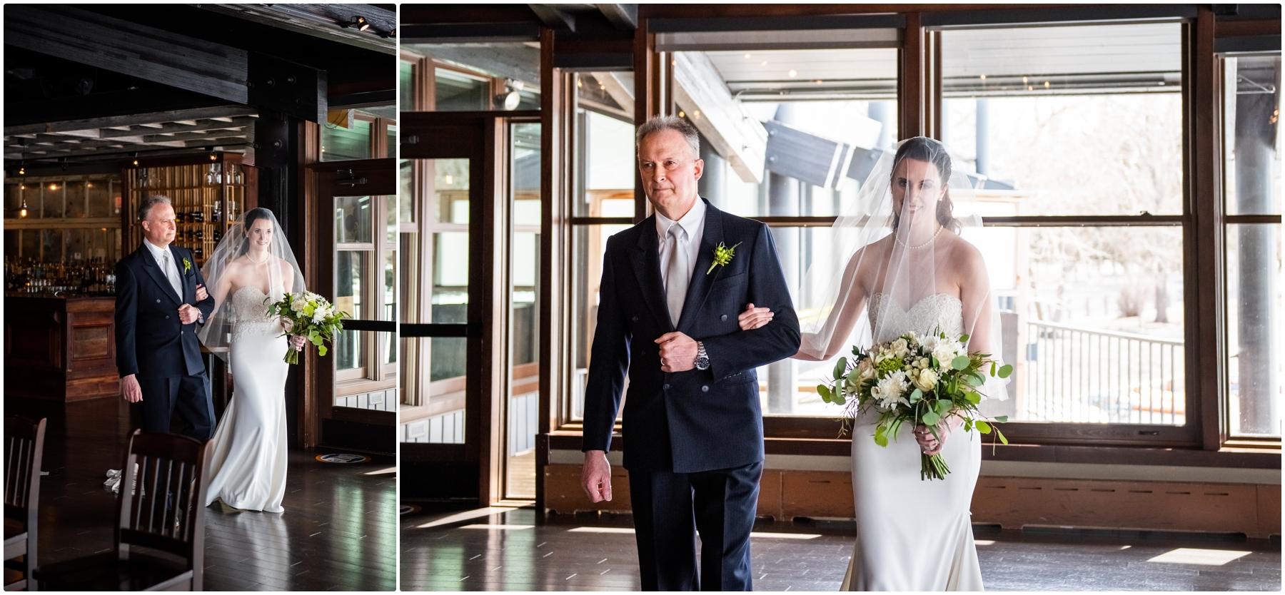 Calgary Lake House Restaurant Micro Wedding Photographers