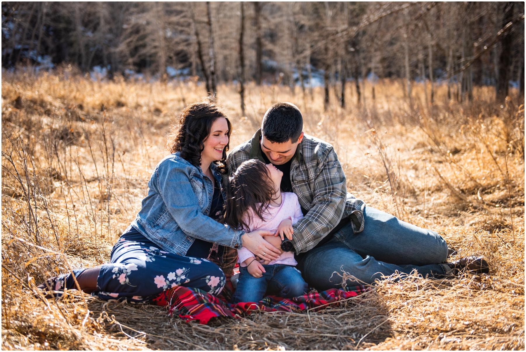 Calgary Maternity Photographers - Fish Creek Park