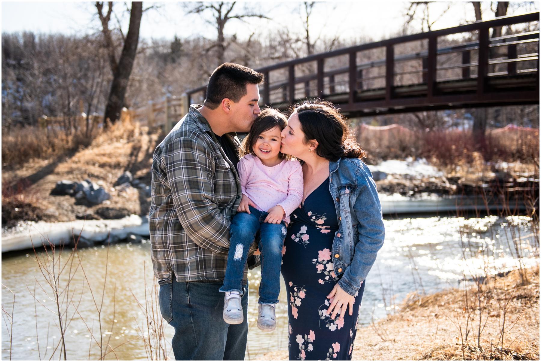 Calgary Spring Family Maternity Photography