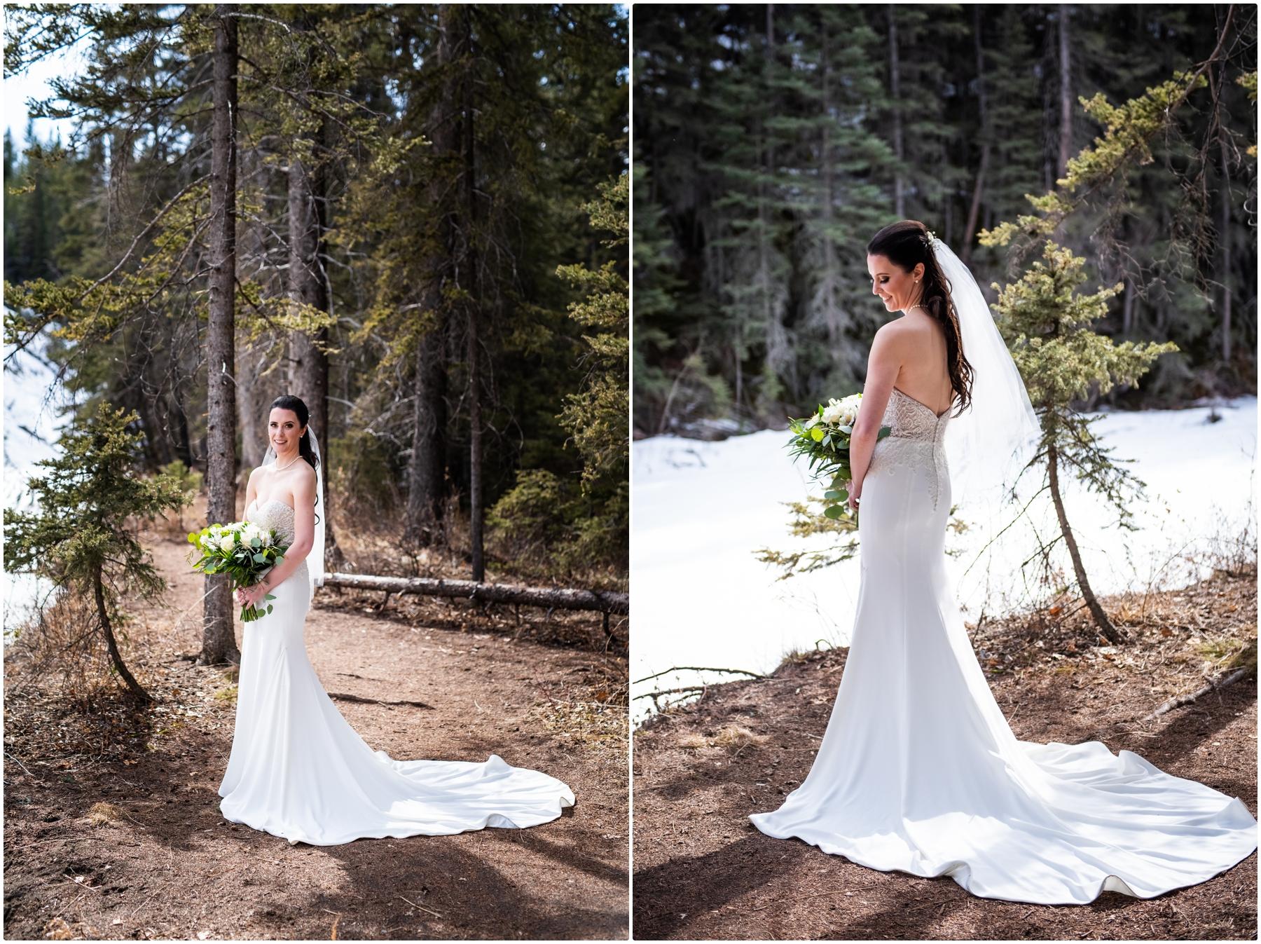 Calgary Wedding Photographer- Formal Bridal Portraits