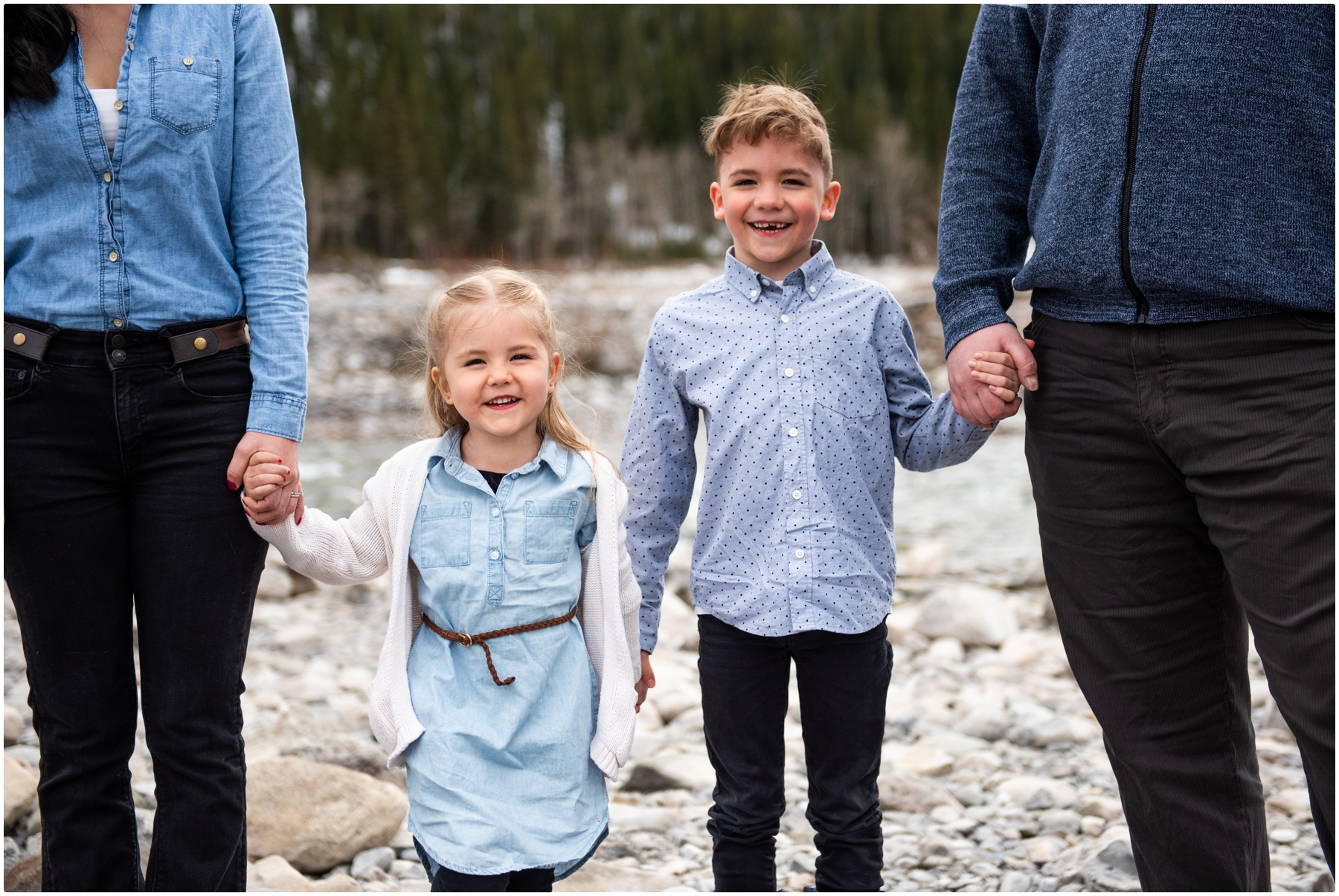 Elbow Falls Family Session