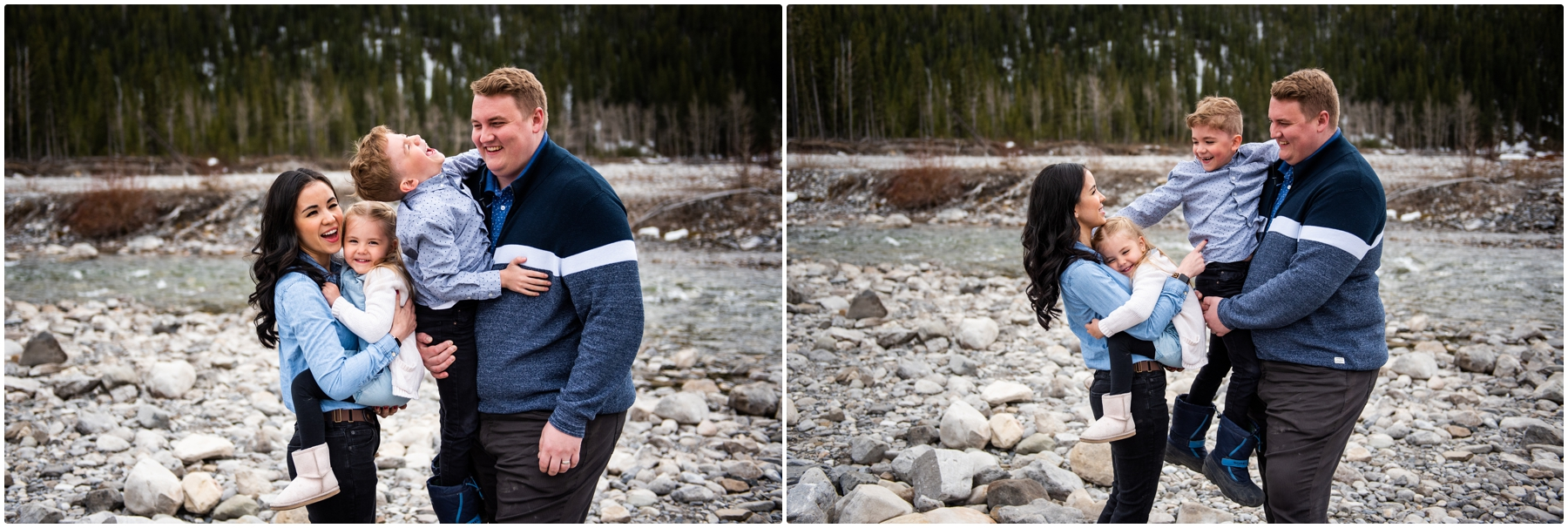 Elbow Falls Family Photographers