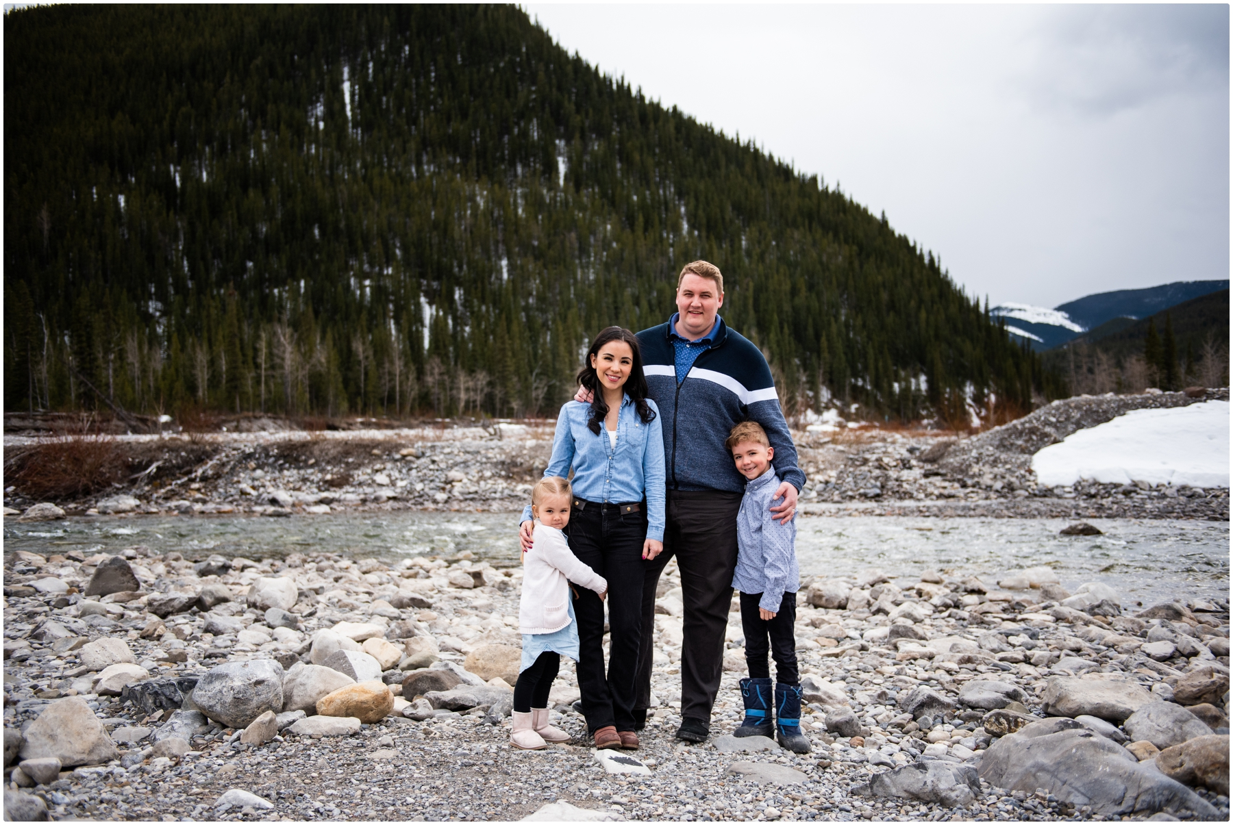 Elbow Falls Family Photography