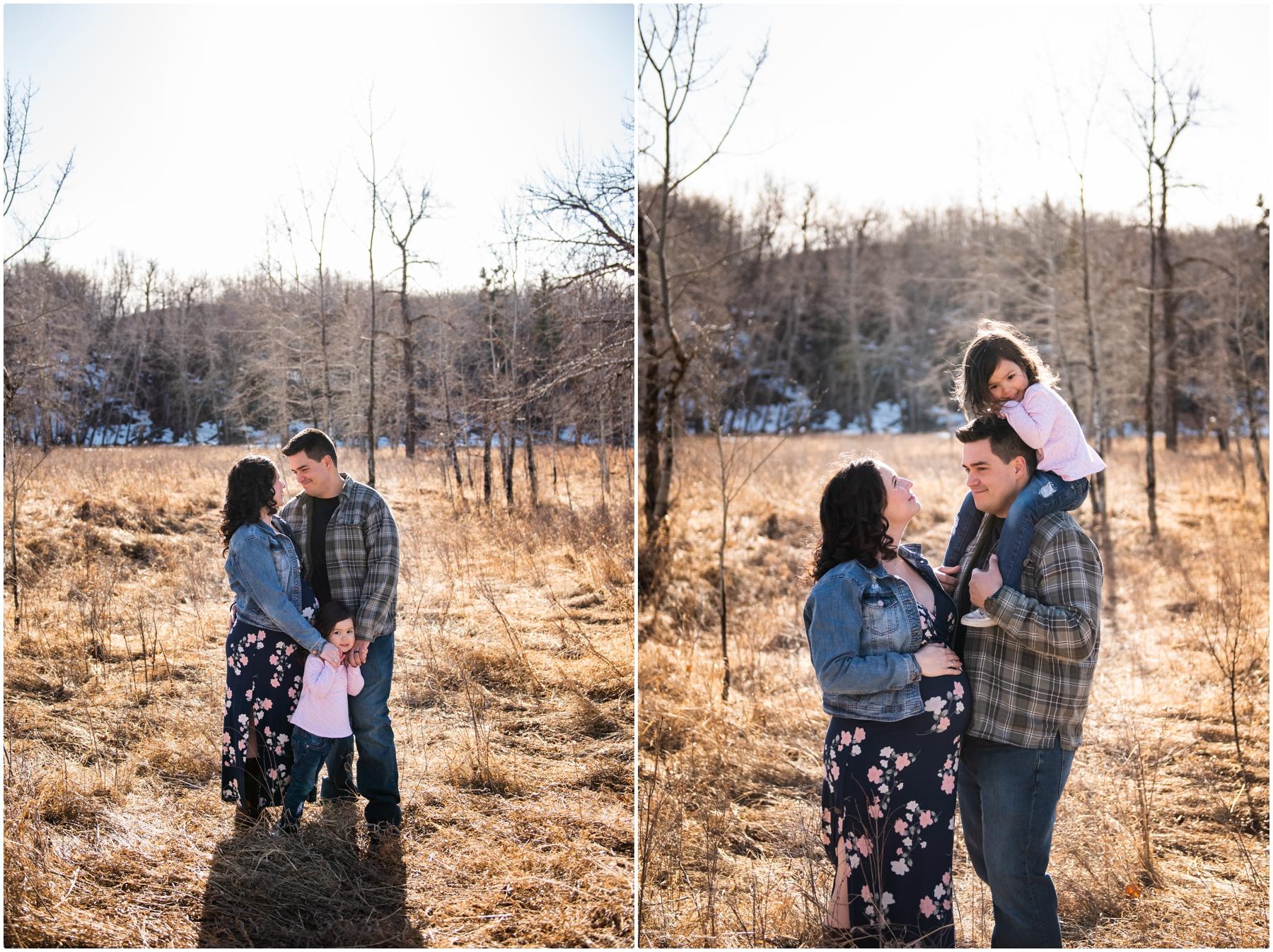 Family Maternity Photographer Calgary