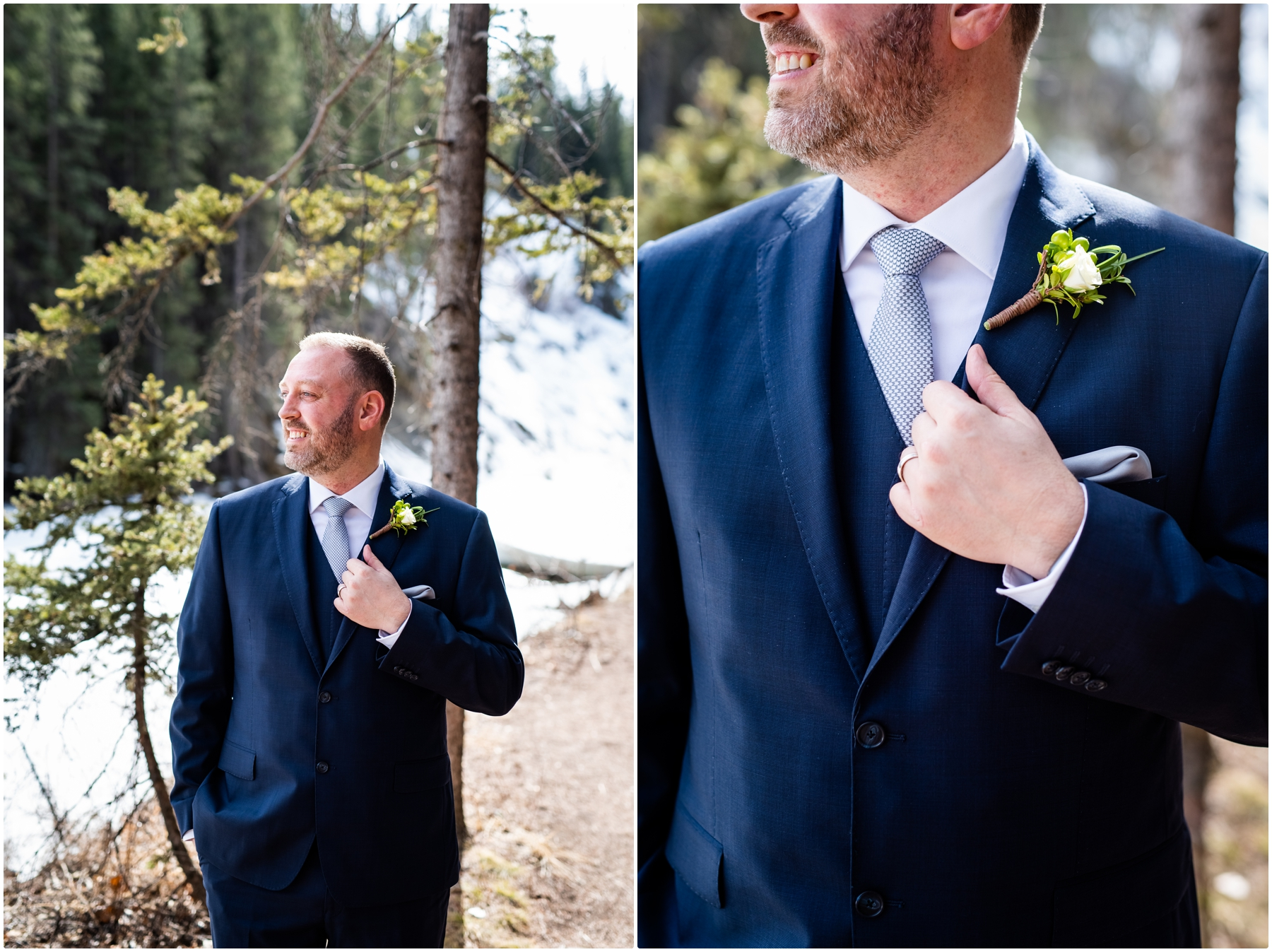 Groom Wedding Photography Portraits Calgary