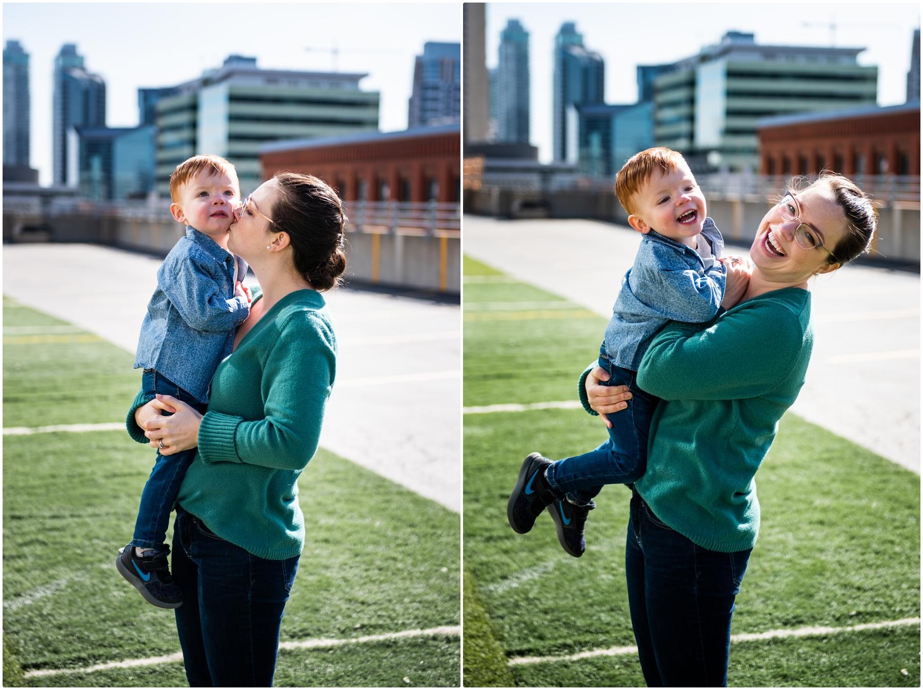 High Park Family Photographers Calgary Alberta