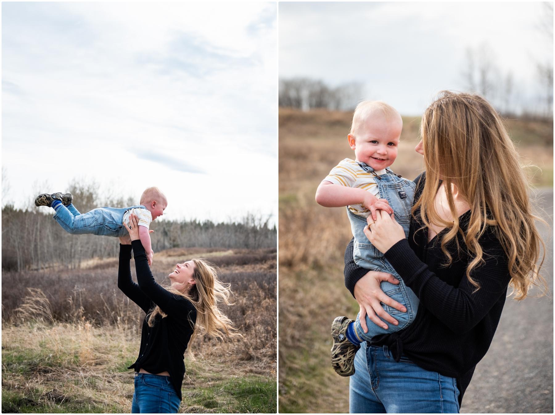 Calgary Fishcreek Park Family Photography