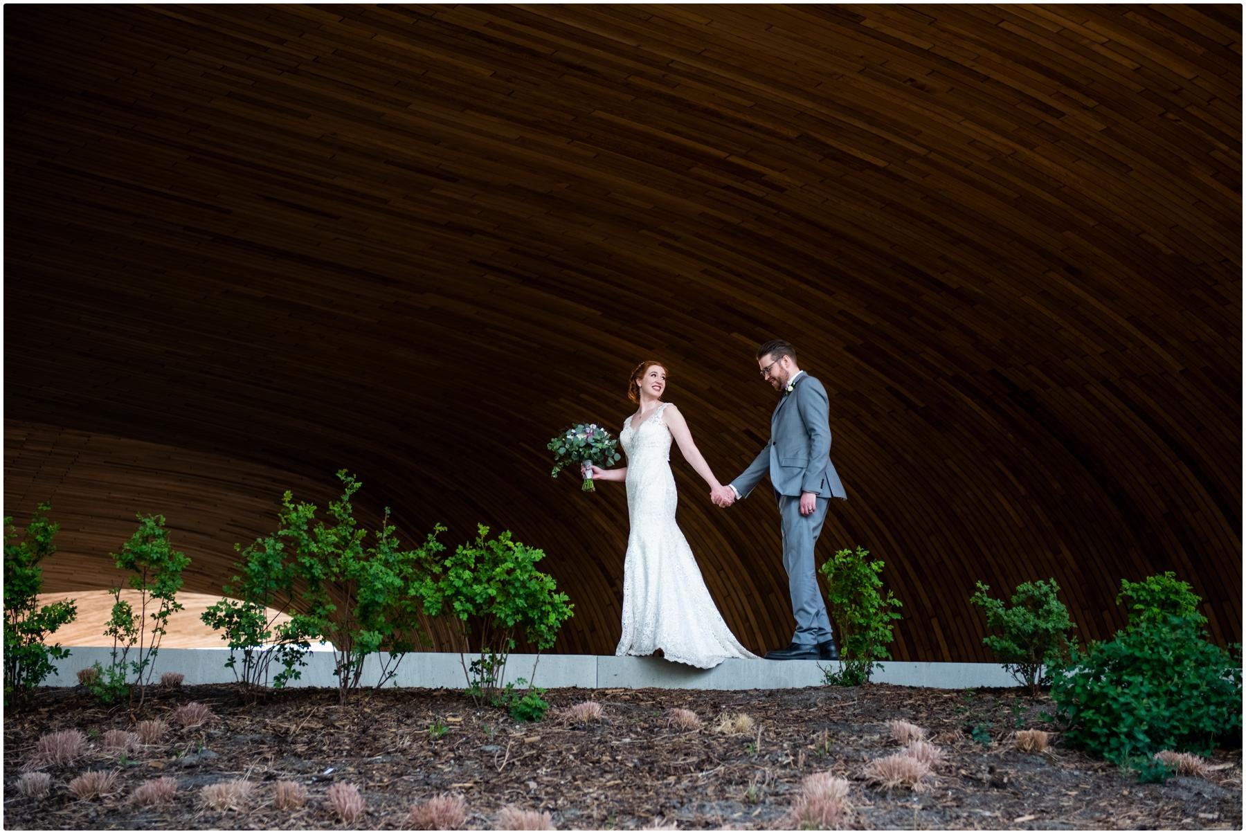 Calgary Central Library Wedding Photos