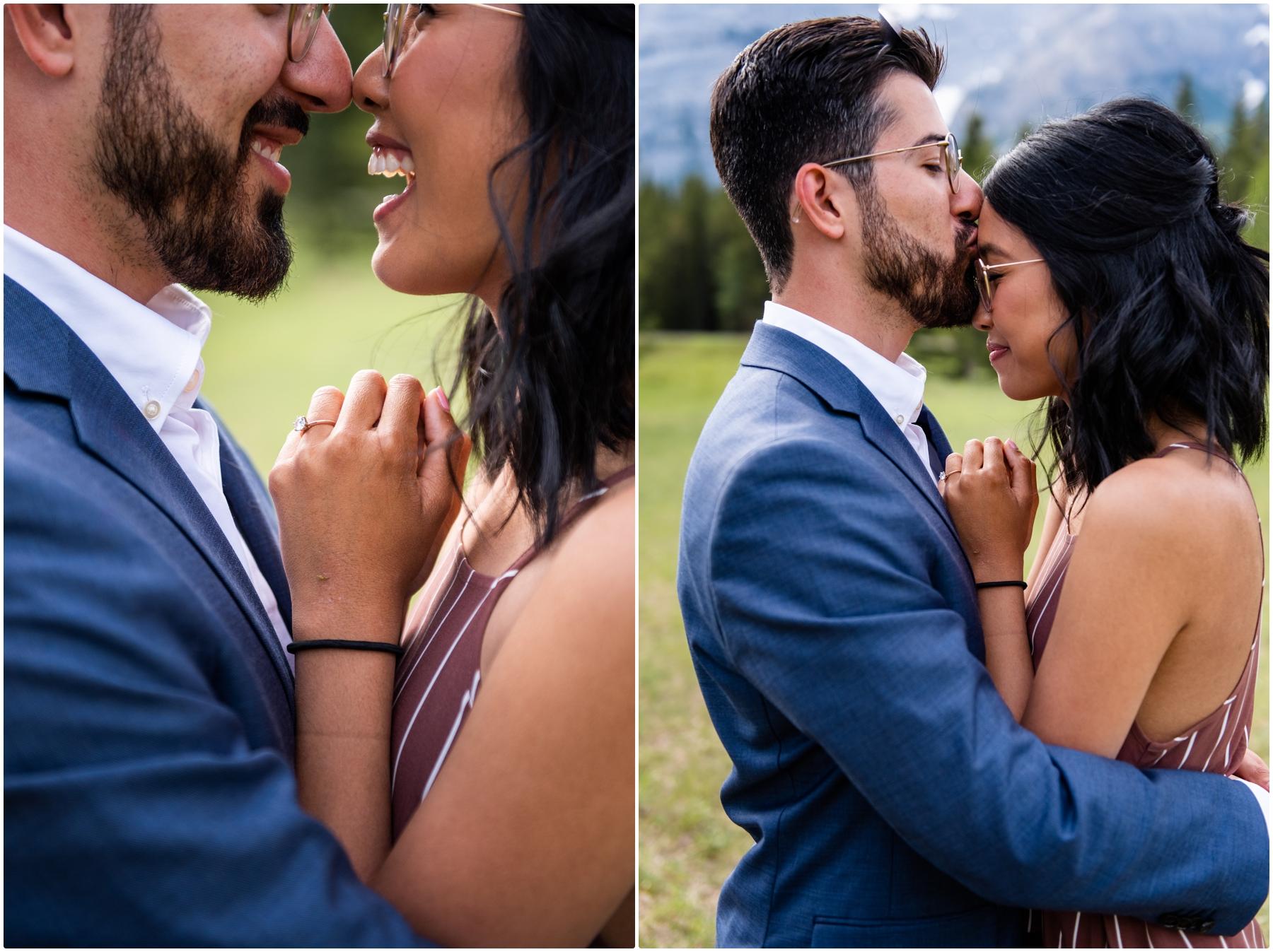 Calgary Engagement Photographers - Wedge Pond Kananaskis