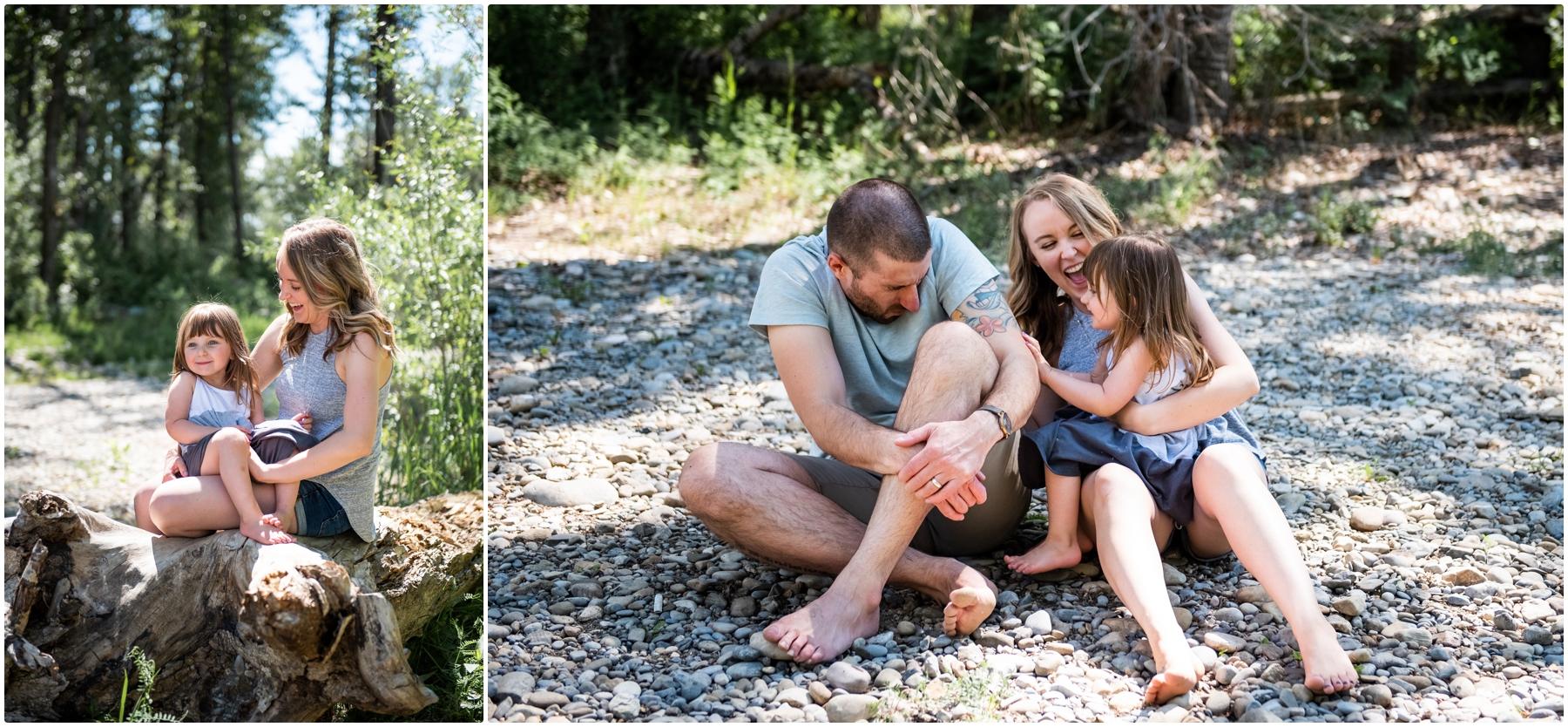 Calgary Fish Creek Family Photography
