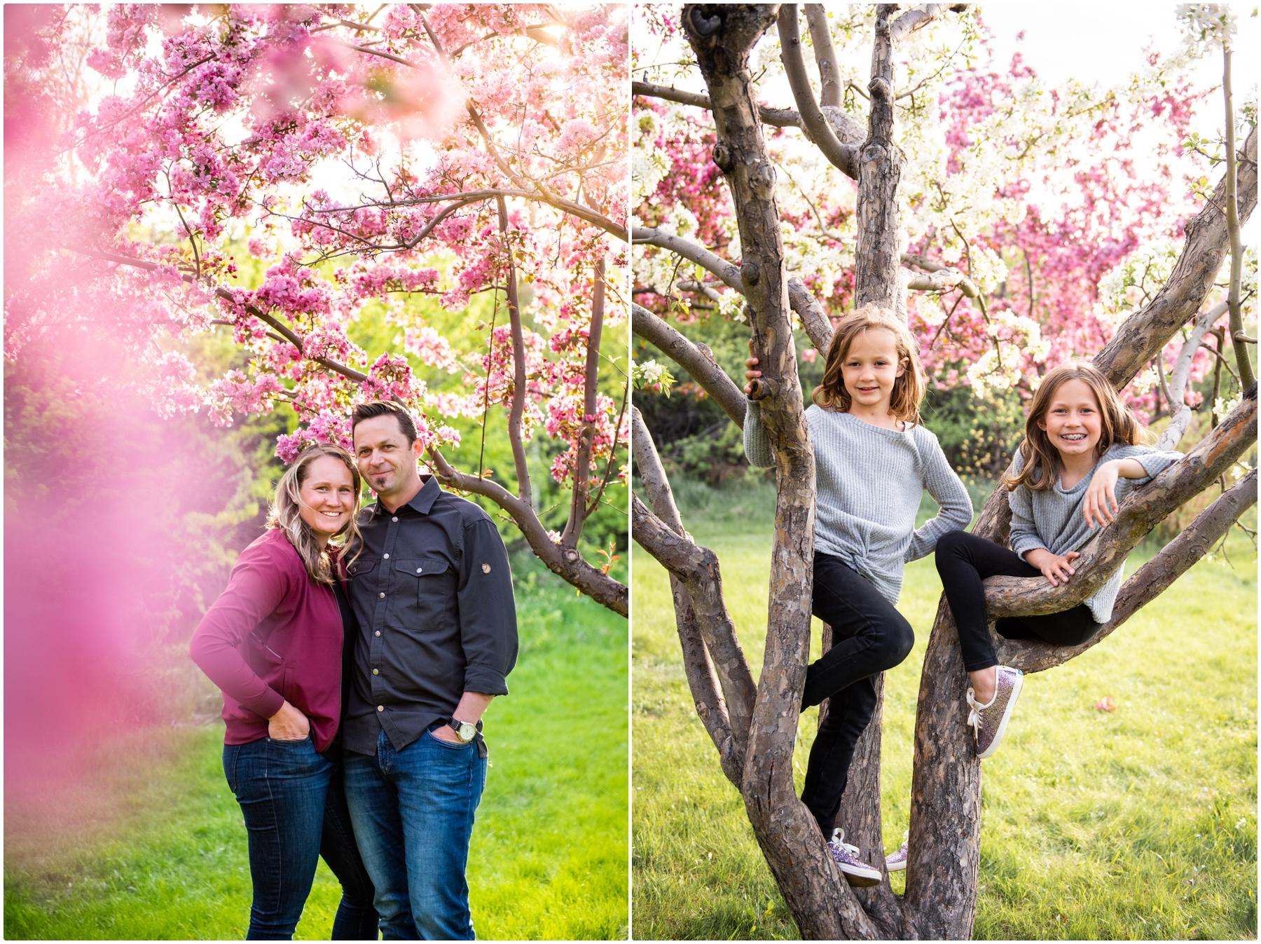 Cherry Blossom Couple Photographer Calgary