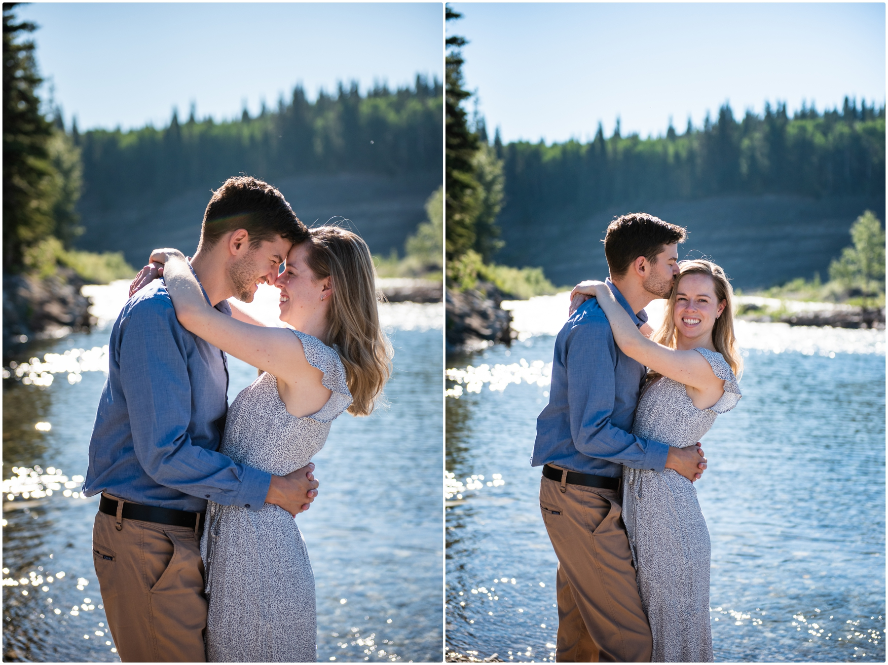 Allen Bill Day Use Engagement Photography