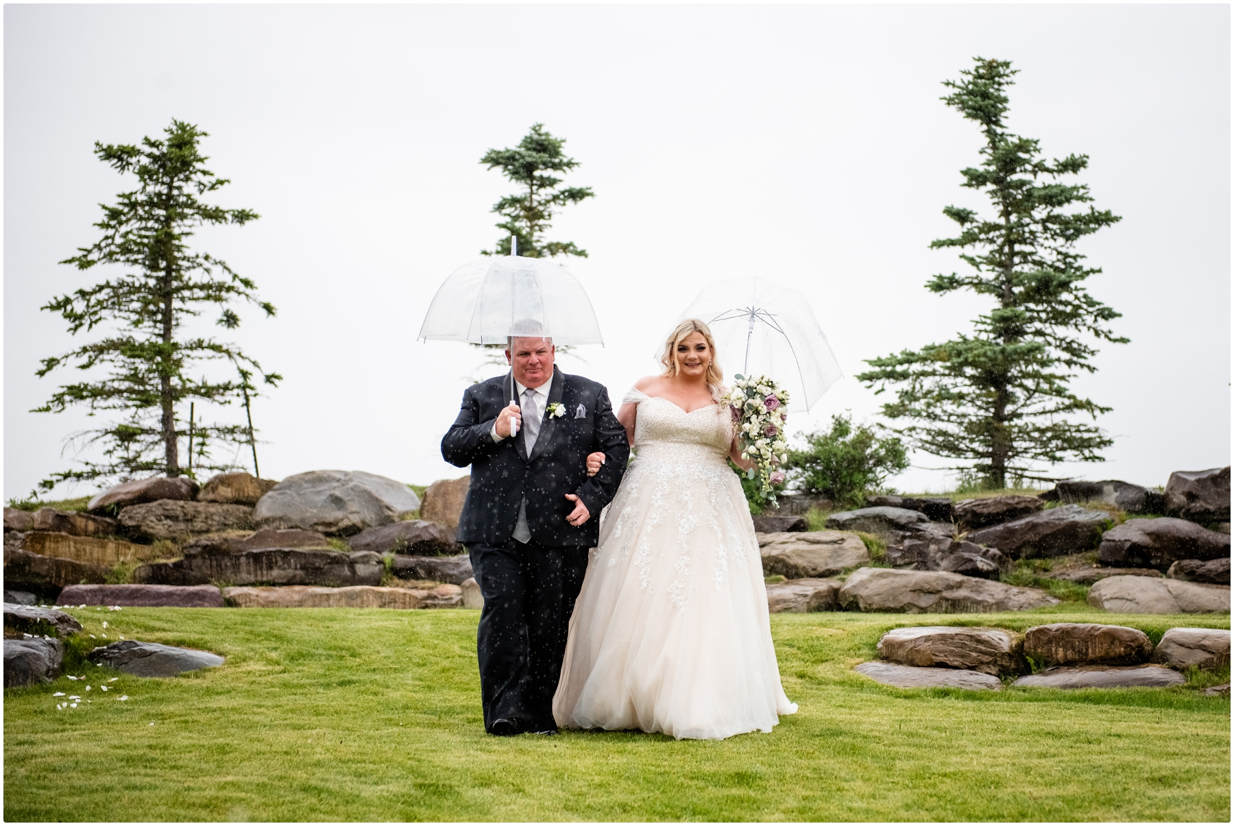 Blue Devil Golf Course Wedding Ceremony Photographer